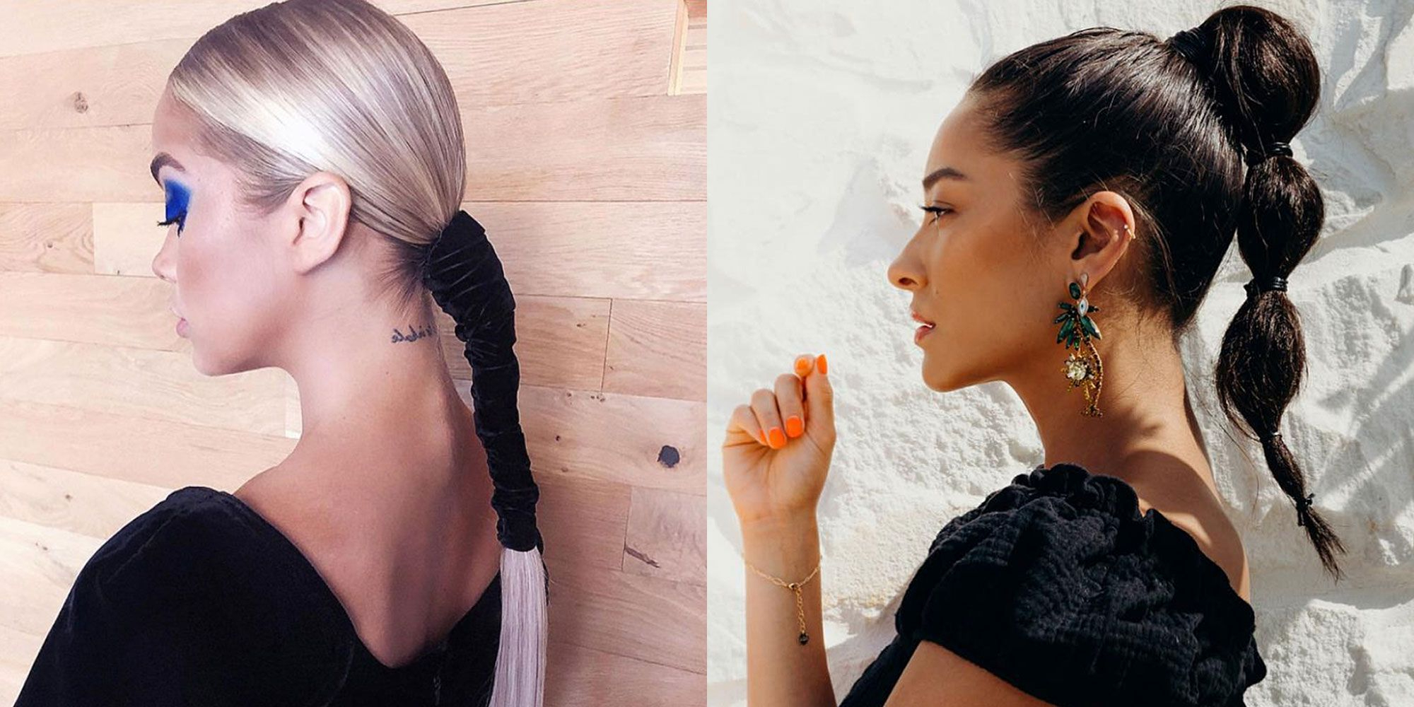 21 Easy Ponytail Hairstyles – Cute Ponytail Ideas To Try This Summer Within Famous Black Bow Ponytail Hairstyles (View 4 of 20)
