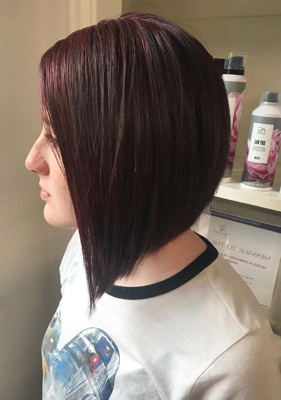 25+ Inspirational A Line Bob Haircuts And Hairstyles In Most Popular Casual A Line Bob Hairstyles (View 5 of 20)