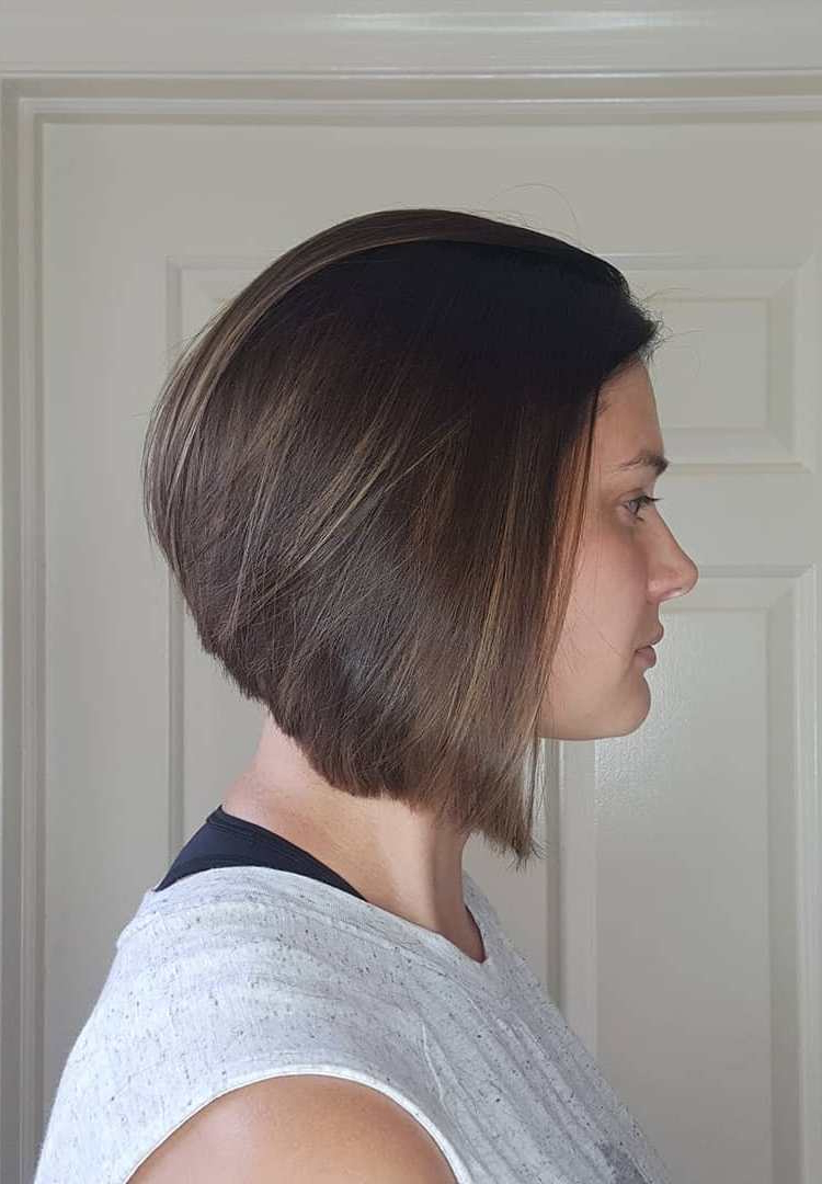 25+ Inspirational A Line Bob Haircuts And Hairstyles Throughout Preferred Casual A Line Bob Hairstyles (View 15 of 20)