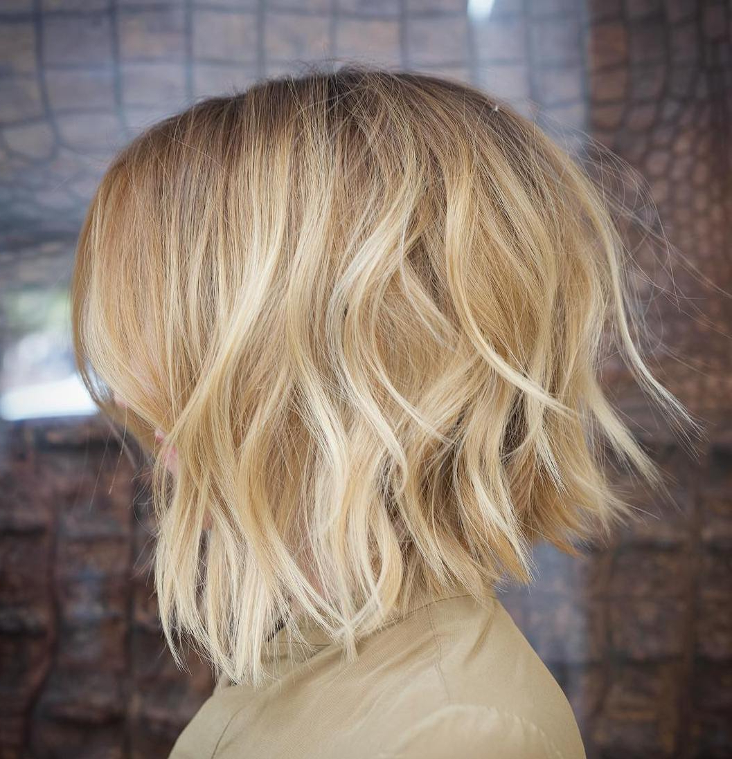 50 Messy Bob Hairstyles For Your Trendy Casual Looks – Page 7 Of 40 Throughout Famous Messy Disconnected Brunette Bob Hairstyles (View 10 of 20)