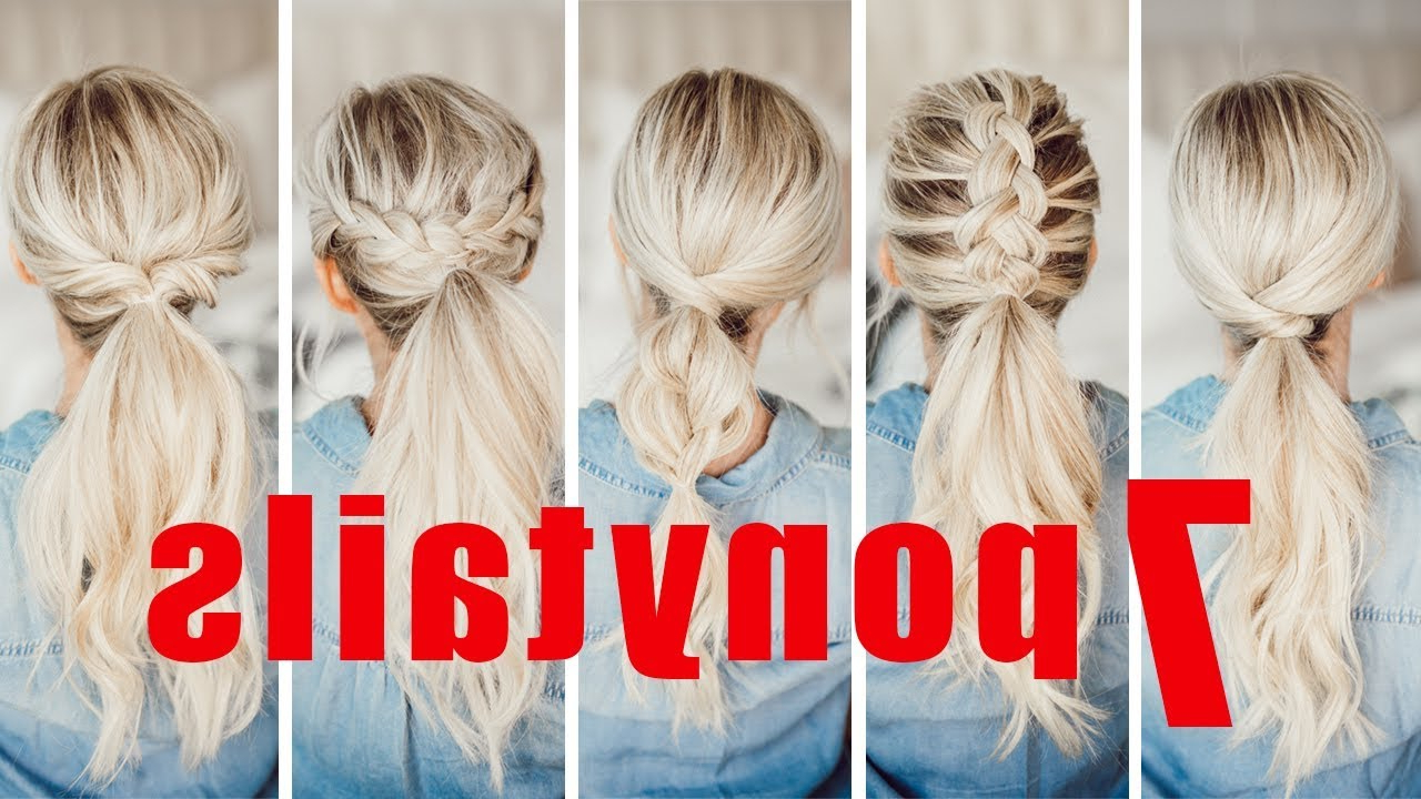 7 Easy Ponytails For Spring And Summer! (Gallery 5 of 20)