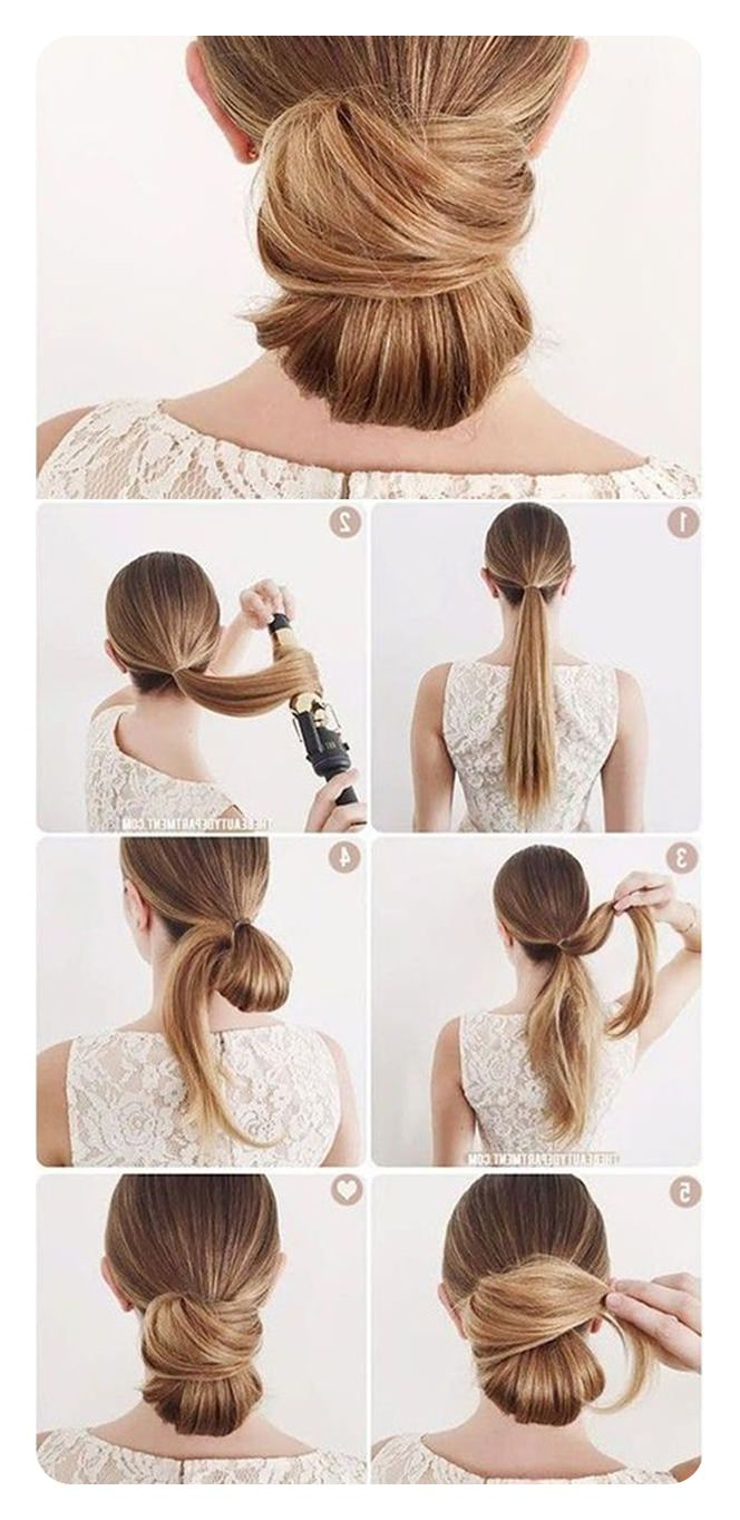 87 Easy Low Bun Hairstyles And Their Stepstep Tutorials – Style Within 2020 Classy Low Bun Hairstyles For Big Foreheads (View 17 of 20)