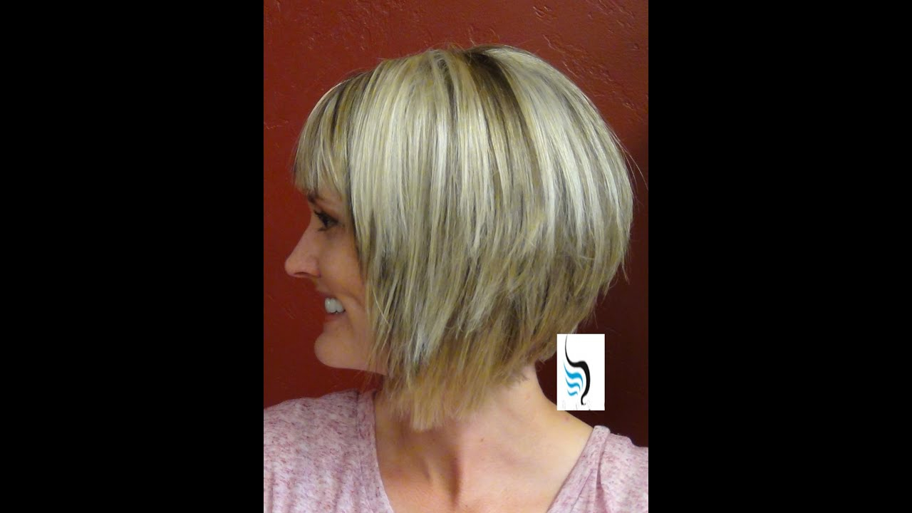 A Line Hairstyles With (Short Haircuts And Bangs) Inside 2019 Casual A Line Bob Hairstyles (Gallery 8 of 20)