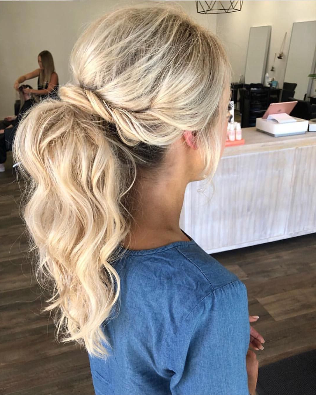 Featured Photo of Halo Ponytail Hairstyles