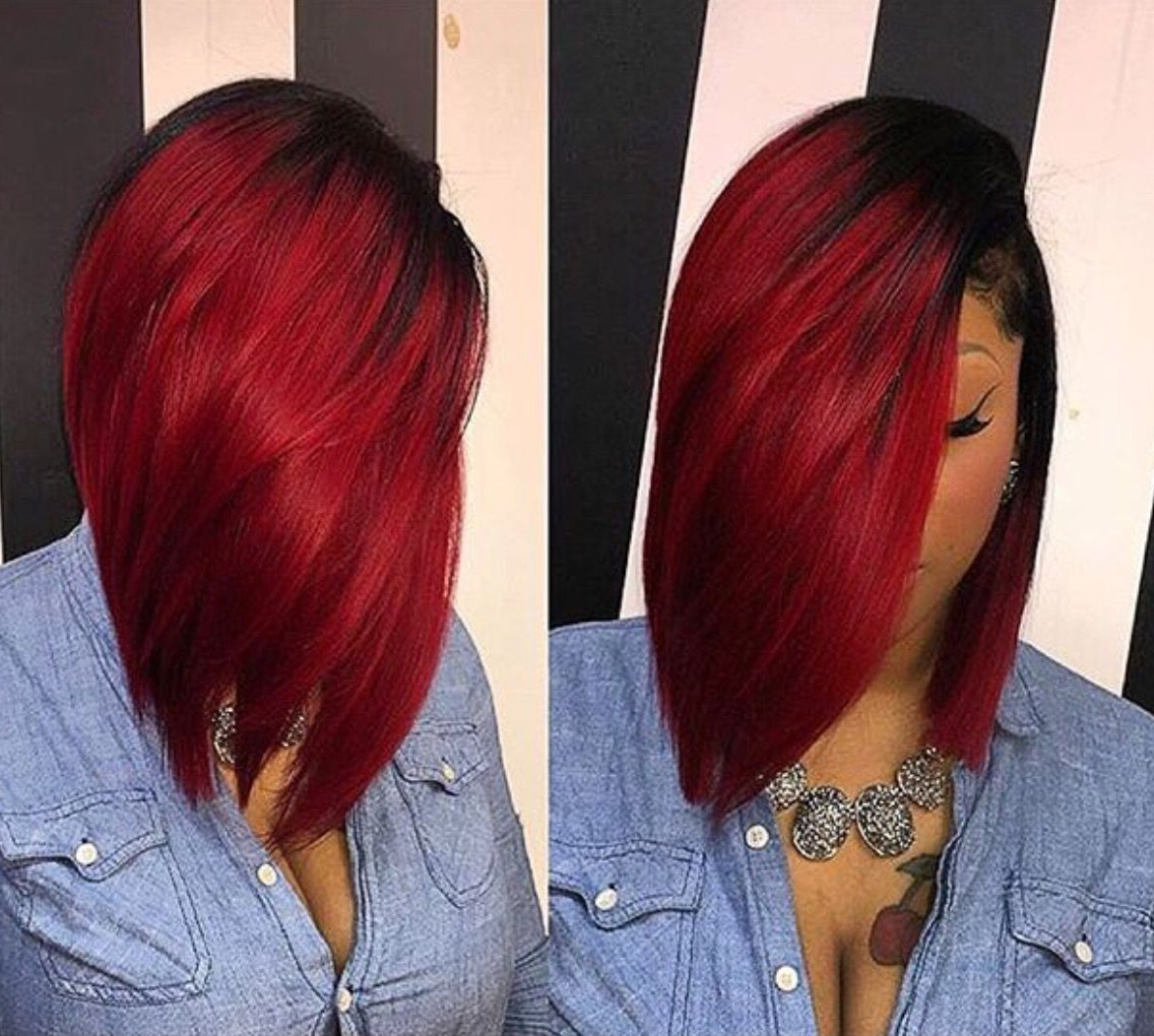 Featured Photo of Radiant Red Bob Haircuts