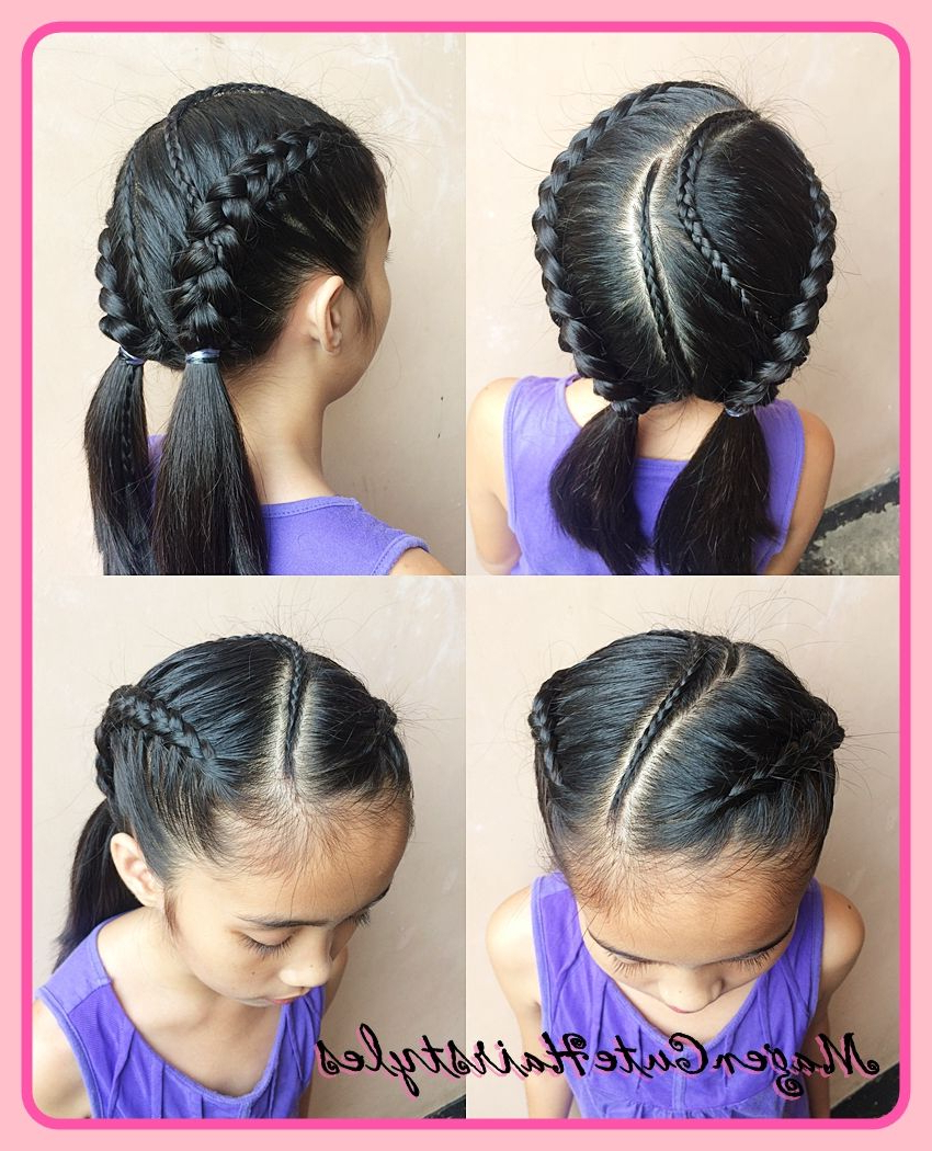 Braid Regarding 2019 Twisted Lace Braid Hairstyles (View 2 of 20)