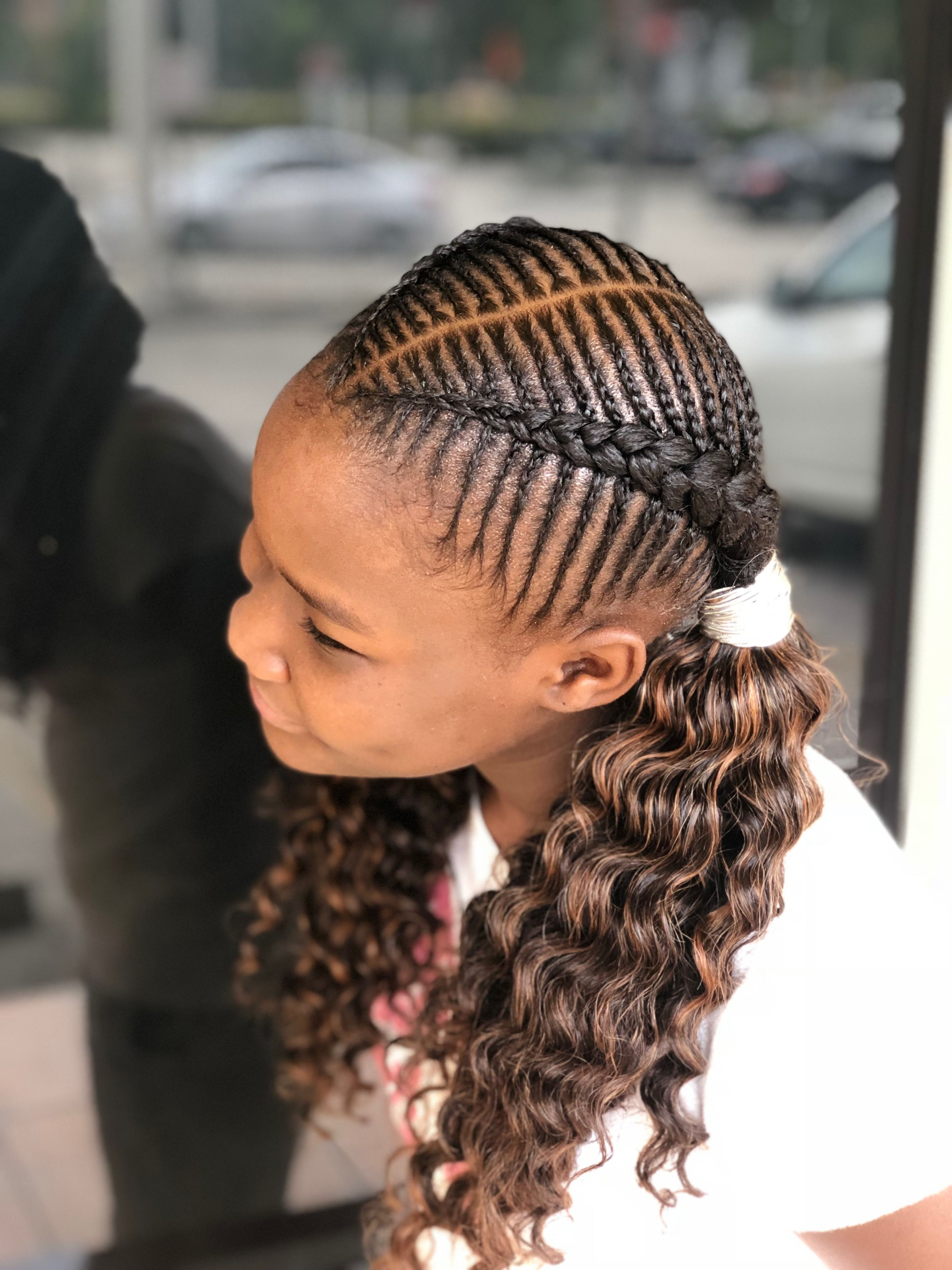 Braided Ponytail For Most Up To Date Stylish Braids Ponytail Hairstyles (View 7 of 20)