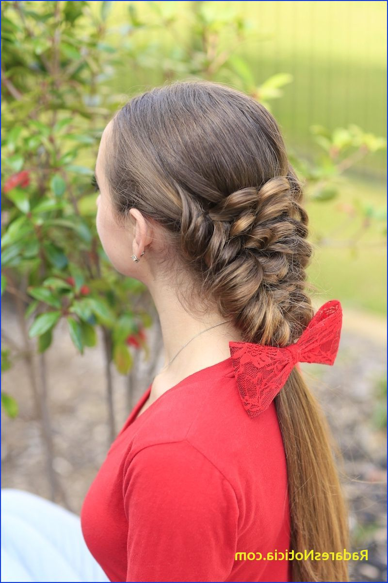 Braided Ponytail Hairstyles Banded Puff Braid Braids Girls Hair Intended For Well Liked Banded Ponytail Hairstyles (View 9 of 20)