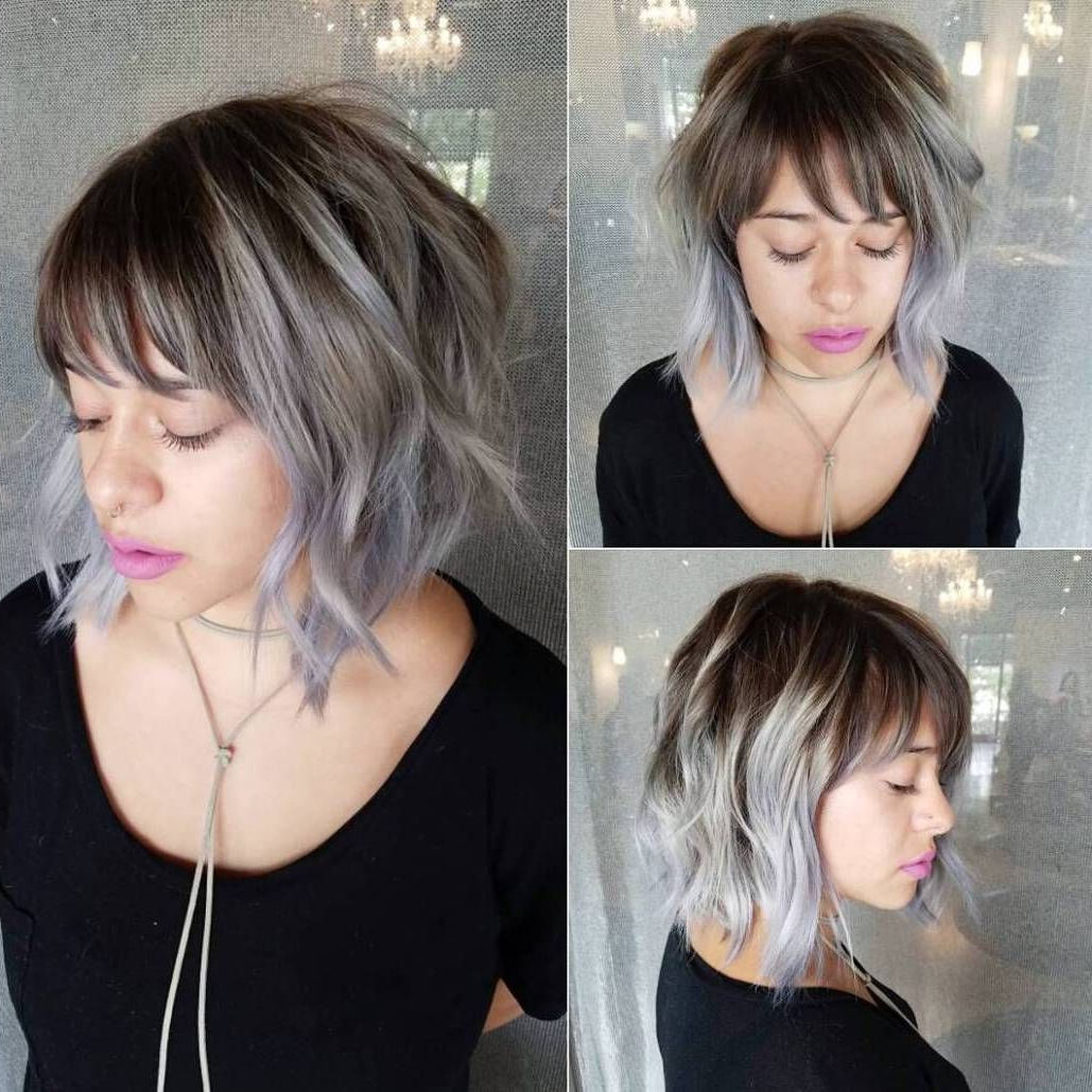 Choppy Bob With Trendy Cute Chopped Bob Hairstyles With Swoopy Bangs (View 3 of 20)