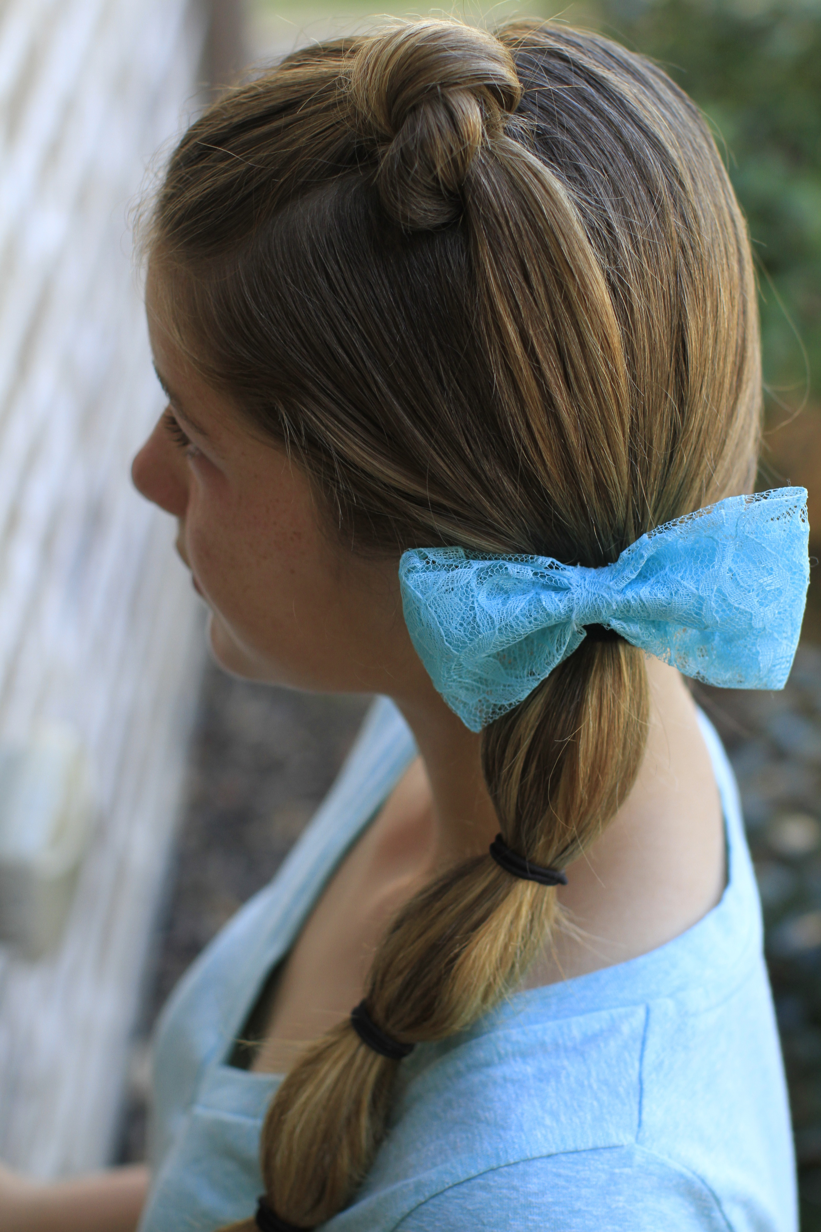 Cute Girls Throughout Trendy Banded Ponytail Hairstyles (View 11 of 20)