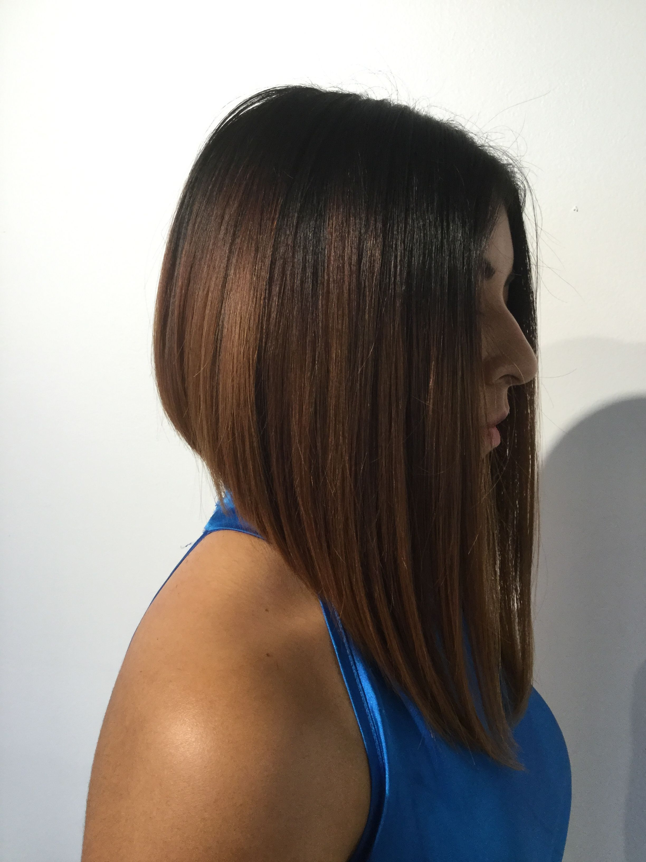 Dramatic Long Bob. Short To Long Haircut. Lob Haircut (View 6 of 20)