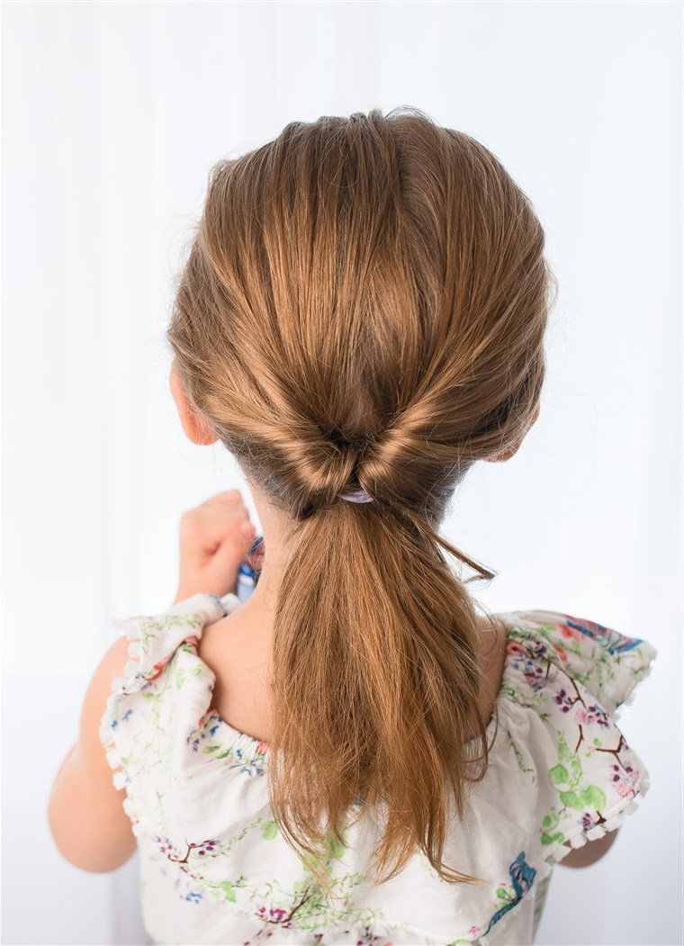 Easy Hairstyles For Girls That You Can Create In Minutes In Well Known Four Pearls Ponytail Hairstyles (Gallery 19 of 20)