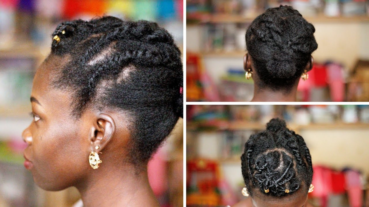 Easy Hairstyles – Protective Styles On Twa Natural Hair (View 18 of 20)
