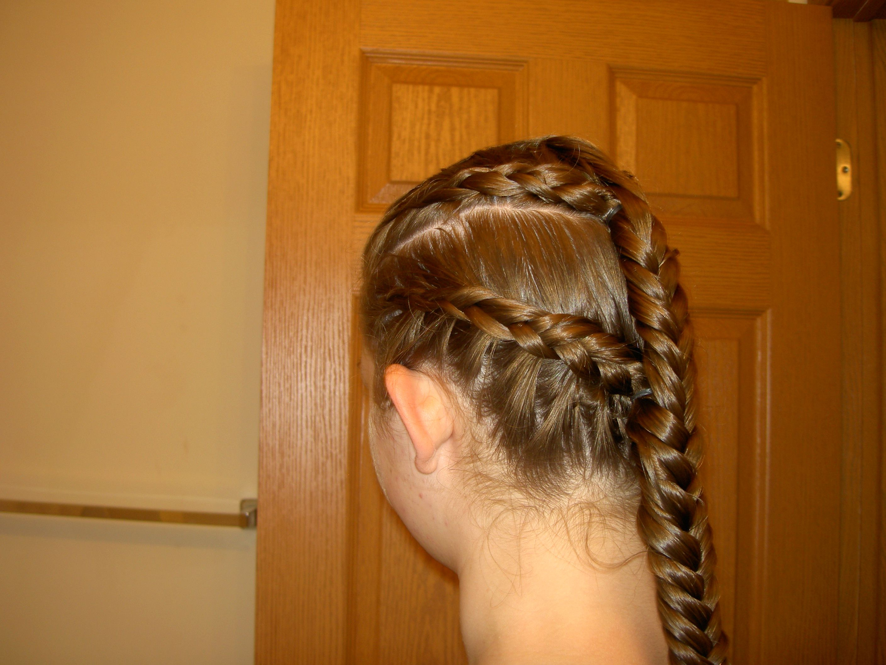Elvish Battle Braid Hairstyle One Twist, Two Dutch Braids, Two Regarding Favorite Twisted Lace Braid Hairstyles (View 7 of 20)
