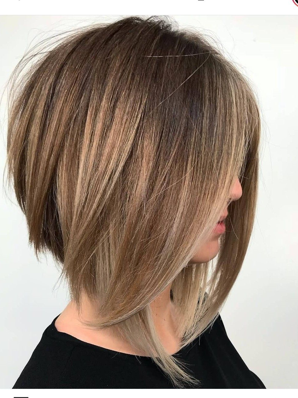 Famous Cute A Line Bob Hairstyles With Volume Towards The Ends Inside A Line Bob (View 4 of 20)