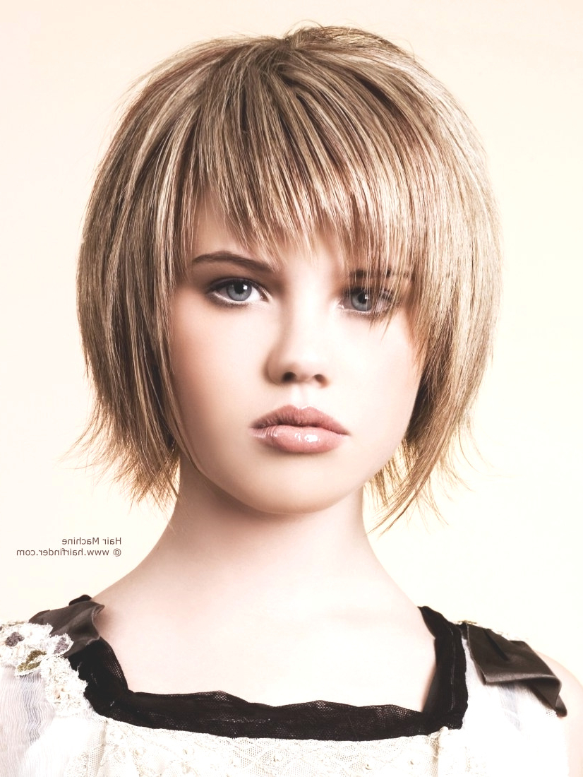 Fashion : Choppy Hairstyles Spectacular Choppy Full Fringe Throughout Favorite Bob Hairstyles With Full Fringe (View 12 of 20)