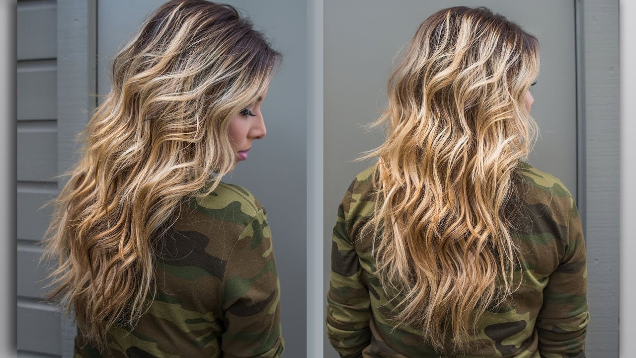 Fashionable Beach Waves Hairstyles In How To : Perfect Beach Wave Hair! (Gallery 20 of 20)