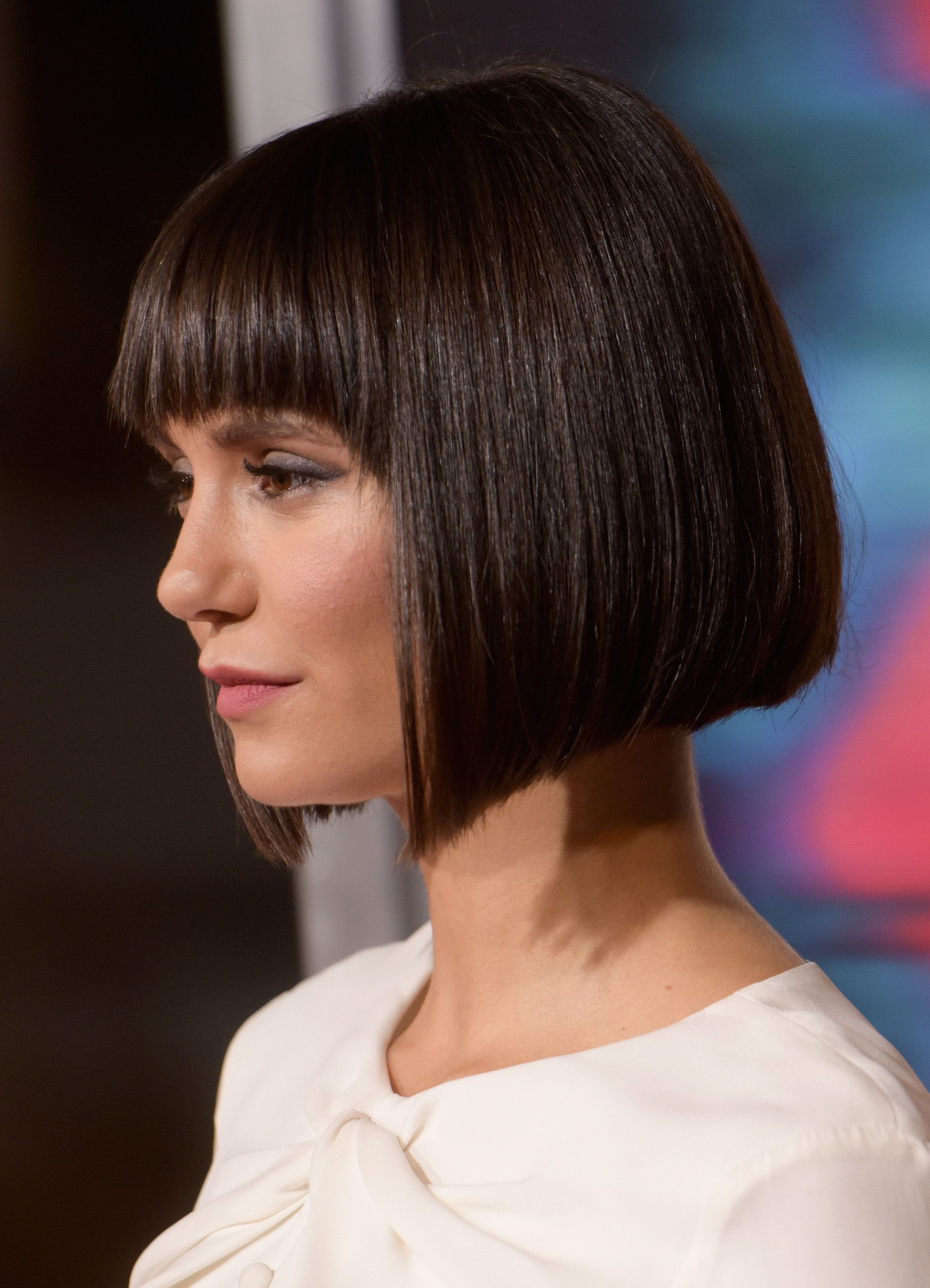 Fashionable Bob Hairstyles With Full Fringe With 50 Best Bob Styles Of 2018 – Bob Haircuts & Hairstyles For Women (Gallery 5 of 20)