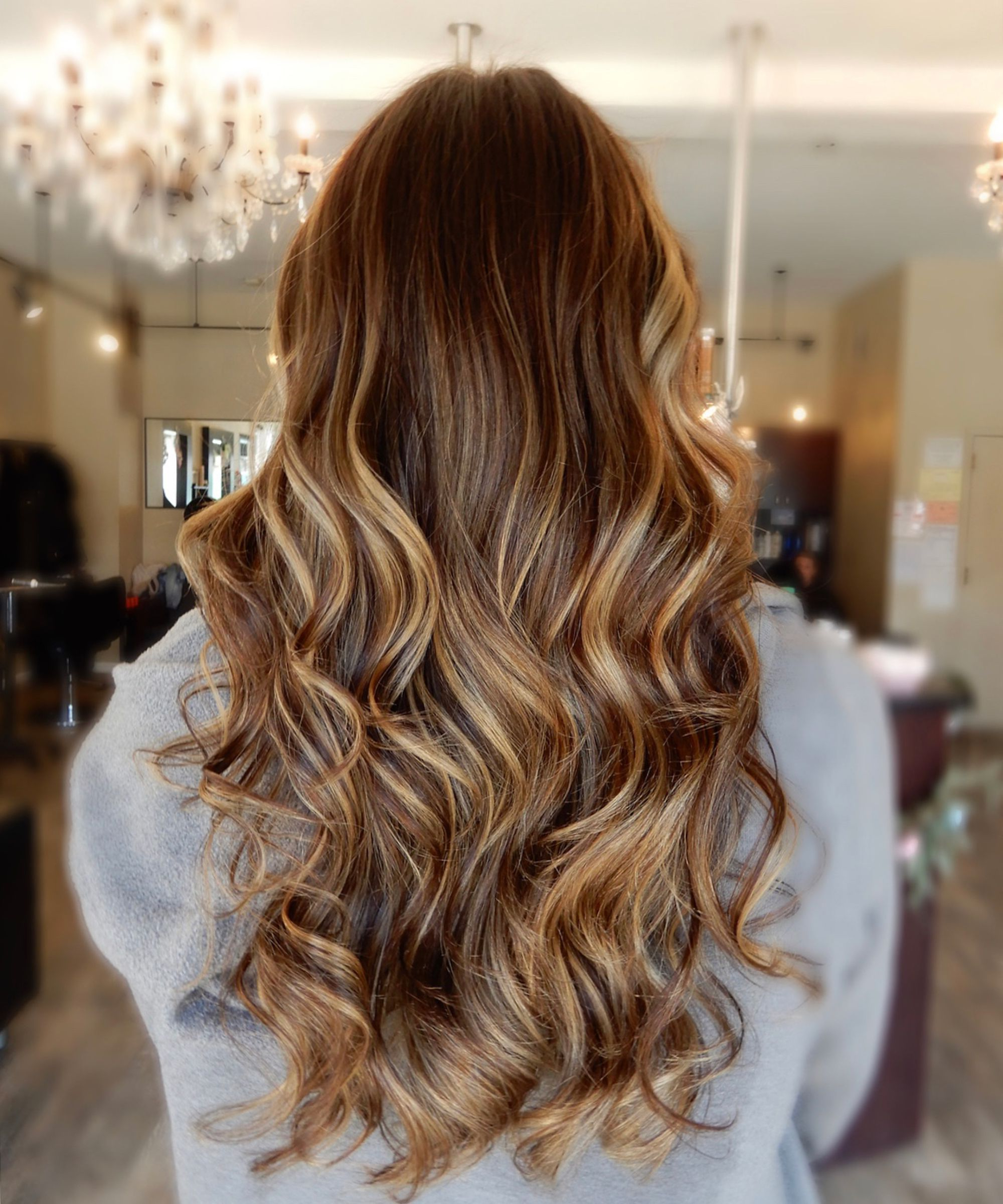 Fashionable Chopped Chocolate Brown Hairstyles For Long Hair Throughout Cold Brew Hair Color Is Trending For Fall  (View 8 of 20)