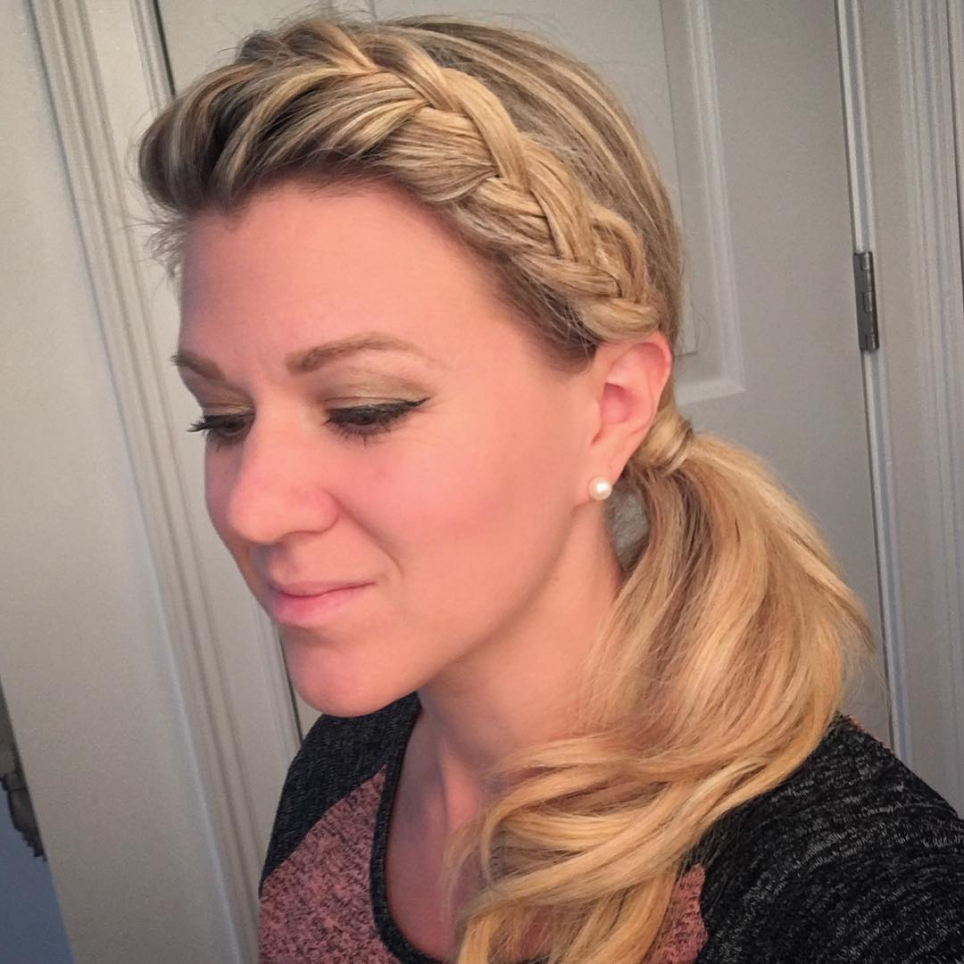 Fashionable Halo Ponytail Hairstyles With 25 Side Braid Hairstyles Which Are Simply Spectacular – Wild About (View 6 of 20)