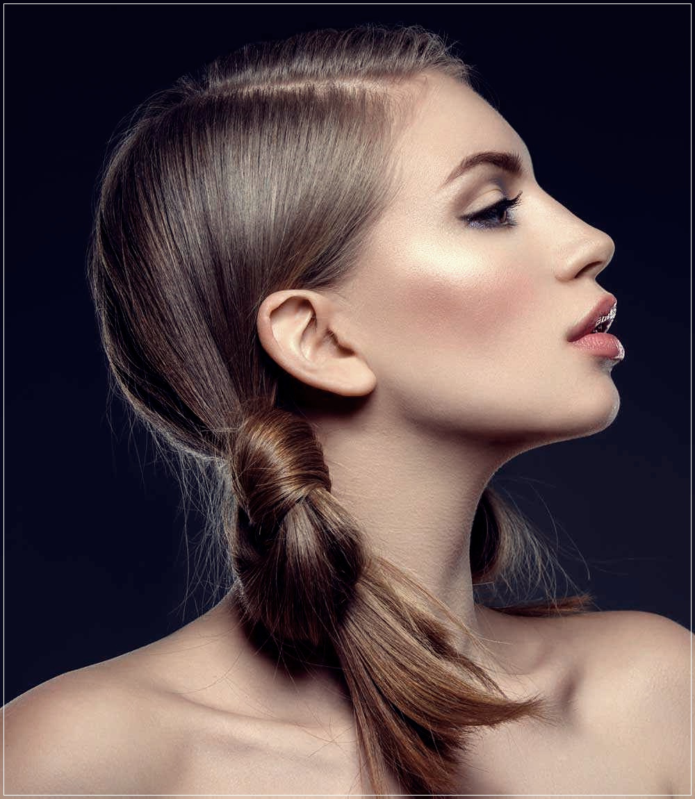 Fashionable Ponytail Hairstyles With A Strict Clasp For Trendy Autumn Winter 2019 2020 Hairstyles: 200 Photos (Gallery 19 of 20)