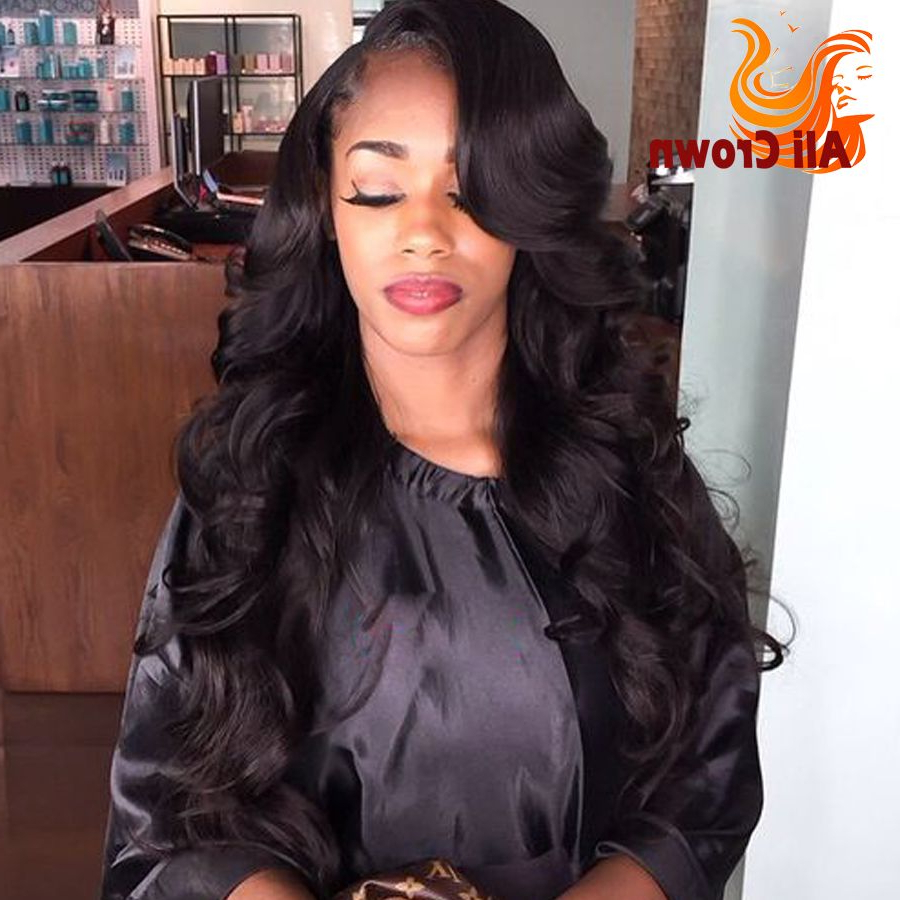 Find More Human Wigs Information About Body Wave U Part Wigs Virgin Regarding Most Up To Date Wavy Side Part Hairstyles (View 10 of 20)