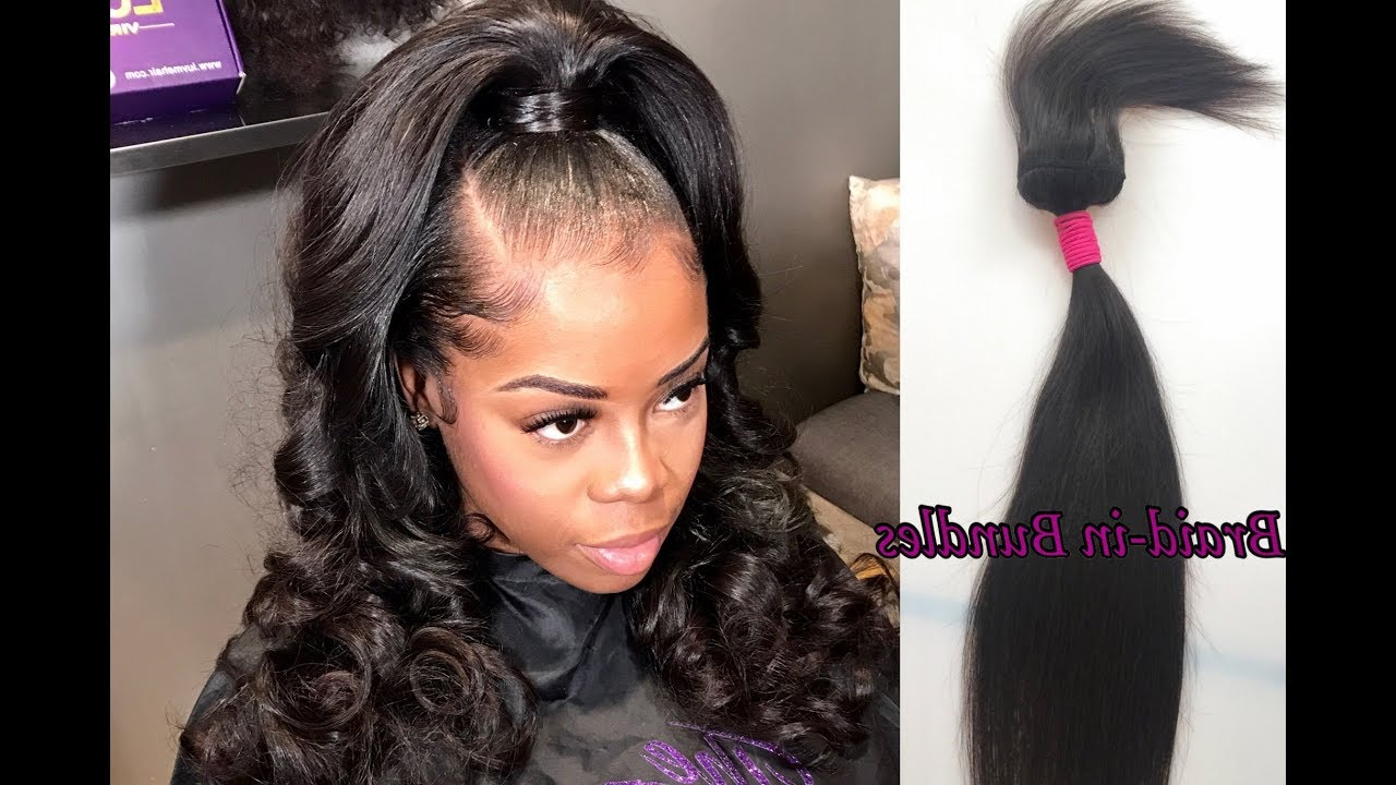 Full Weave No Glue, Thread, Or Clips! How To Install Braid In Bundles (Gallery 7 of 20)