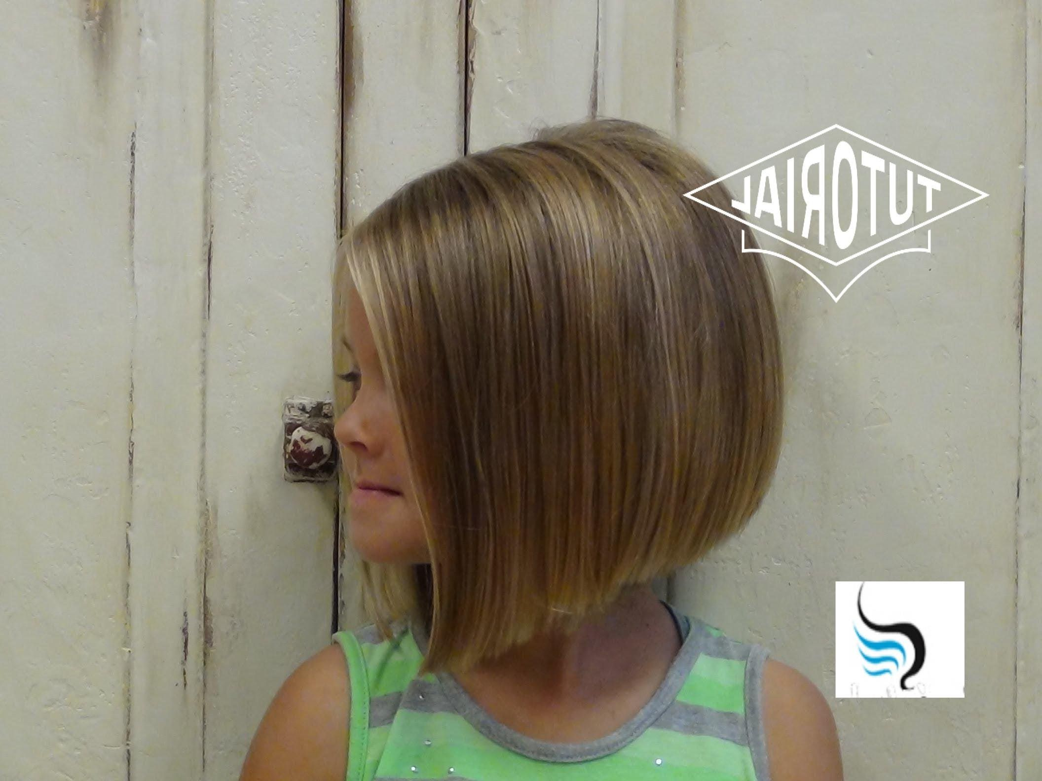 Girls Short A Line Haircut – Google Search (Gallery 2 of 20)