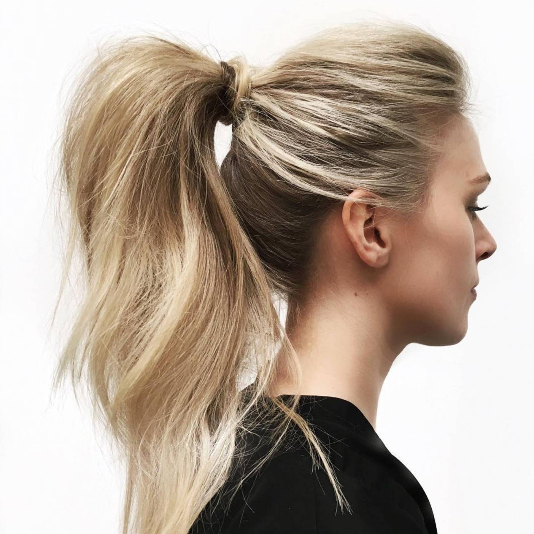 Glamour Uk Intended For Well Known Chic Ponytail Hairstyles Ponytail Hairstyles (View 4 of 20)