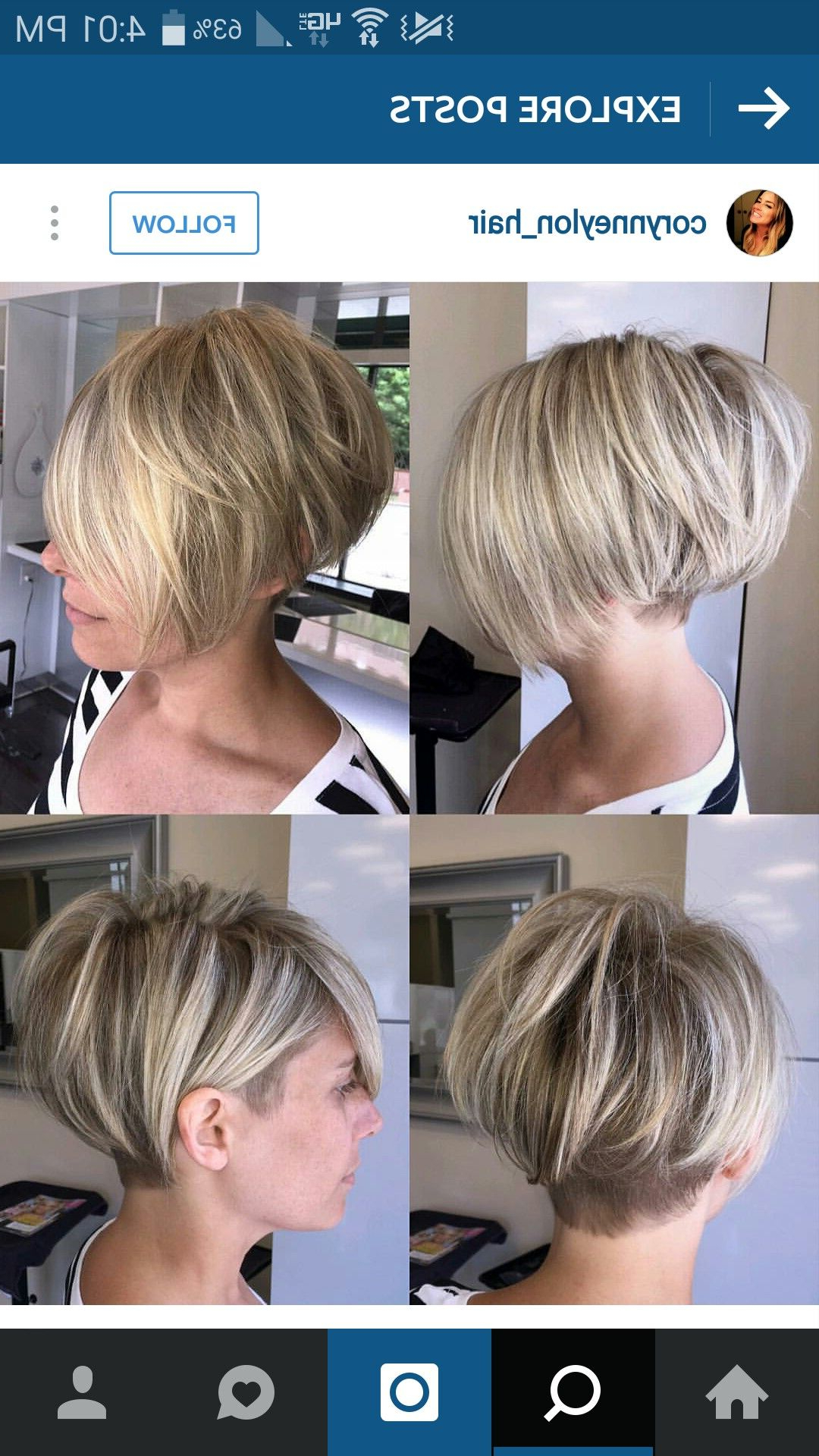 Hair Cuts, Short Intended For Famous Amber Undercut Hairstyles For Long Face (Gallery 3 of 20)