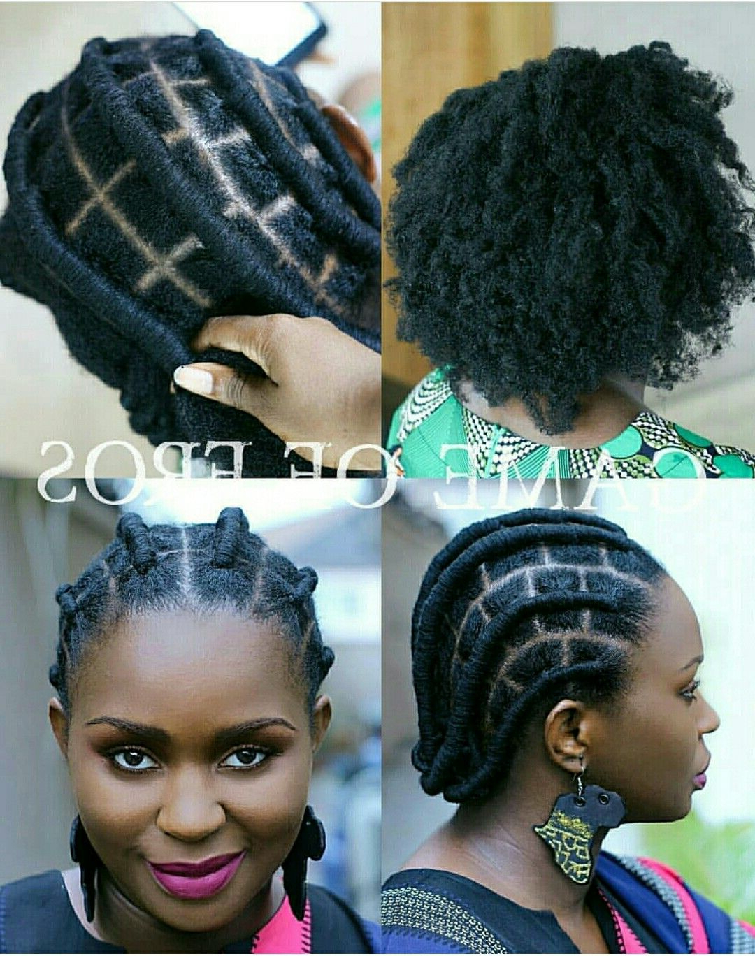Hair Styles, Natural Pertaining To Popular Threaded Ponytail Hairstyles (View 2 of 20)