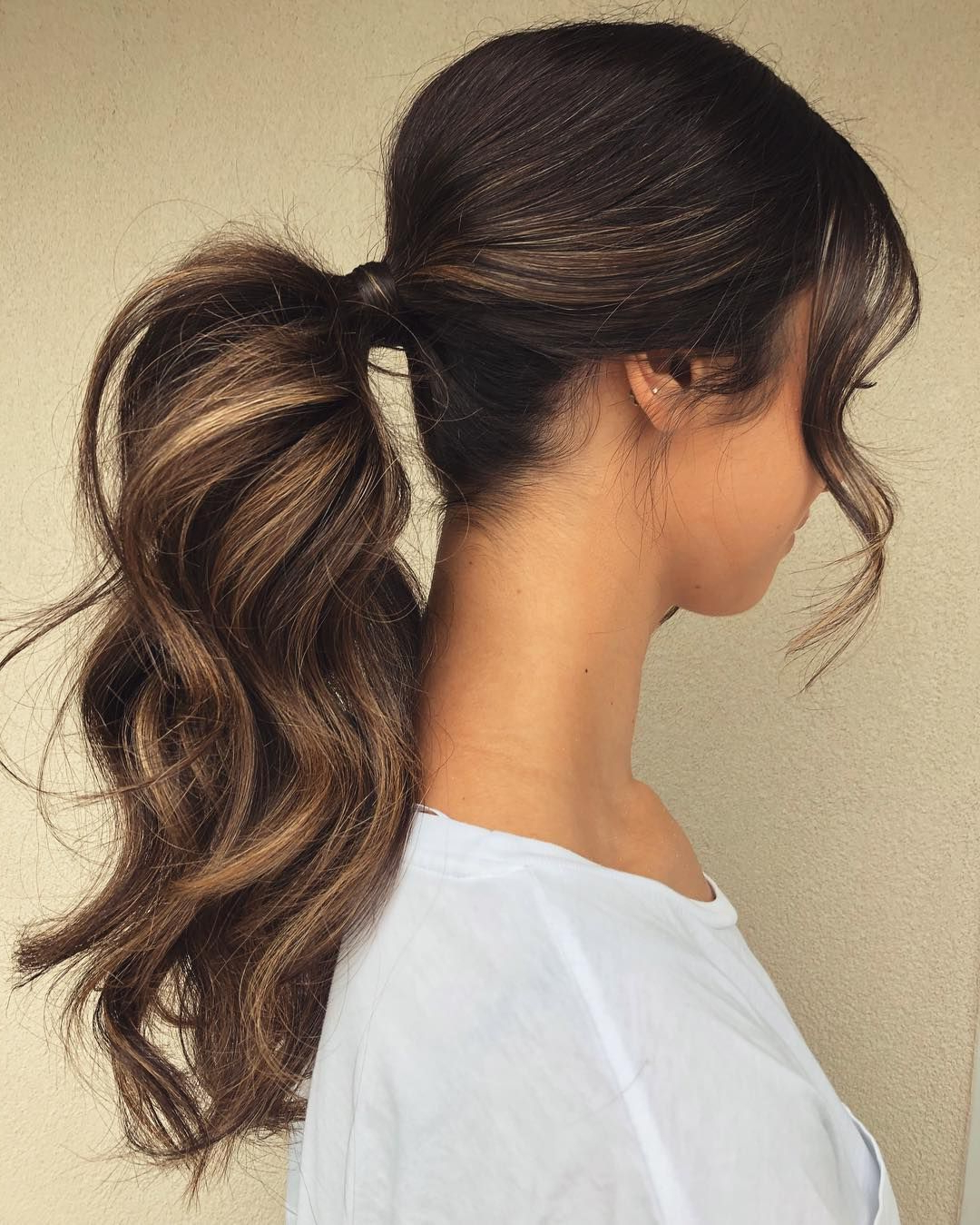 Hair Within Well Known Chic Ponytail Hairstyles Ponytail Hairstyles (Gallery 2 of 20)
