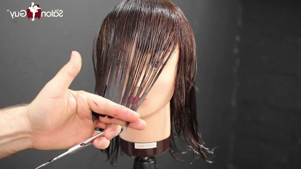 Haircut Tutorial – Medium Length Layers With Regard To Best And Newest Medium Hairstyles With Sliced Layers (Gallery 11 of 20)