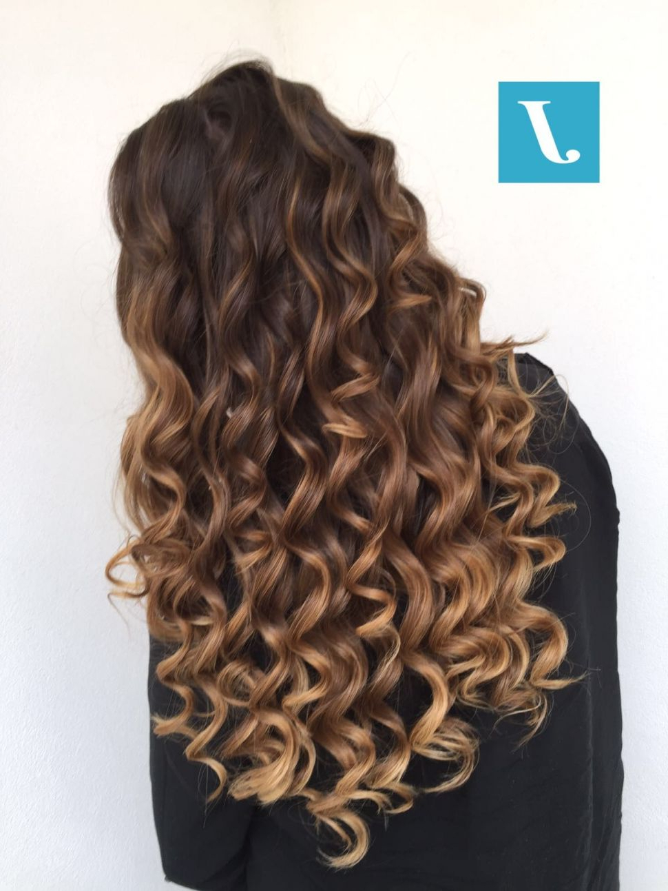 Hairstyles : Pinbrianaaf09F8Cb9 On Haire280A2Wee280A2Go In 2018 Pertaining To Well Known Ravishing Raven Waves Hairstyles (Gallery 10 of 20)