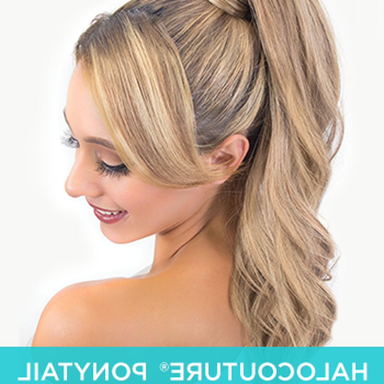 Halo Couture Ponytail Regarding Most Recently Released Halo Ponytail Hairstyles (View 8 of 20)