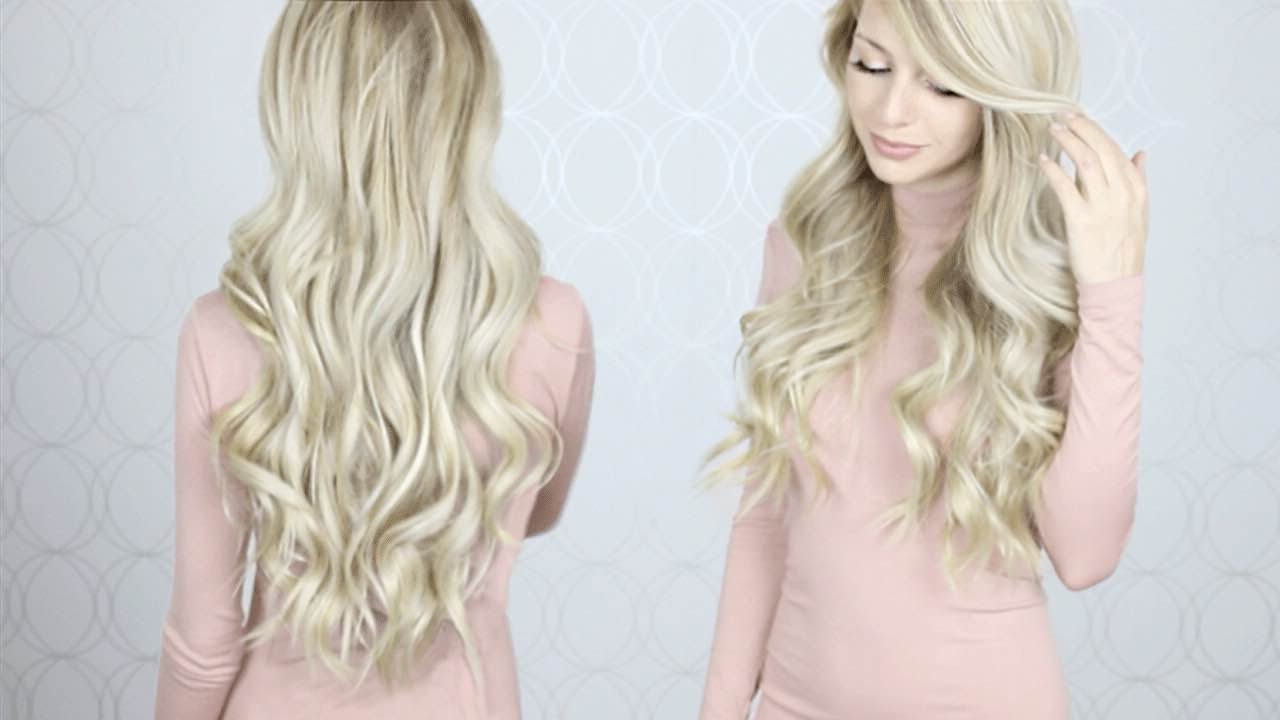 How To: Curl Your Hair With A Wand Hair Tutorial (View 13 of 20)