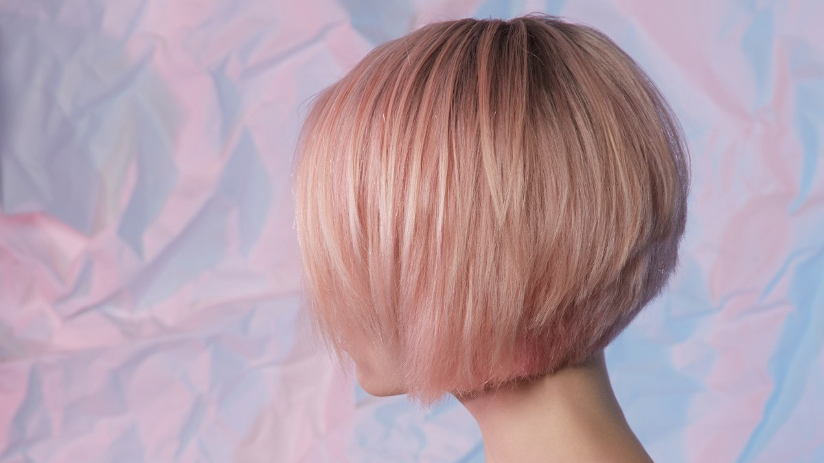 How To Cut A Stacked Bob For Fashionable Cute A Line Bob Hairstyles With Volume Towards The Ends (Gallery 20 of 20)
