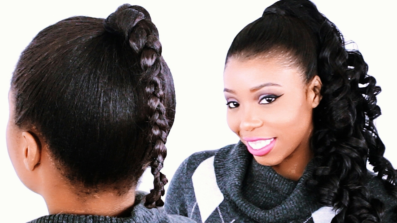 How To: Invisible Ponytail Regarding Well Known Stitched Thread Ponytail Hairstyles (Gallery 10 of 20)