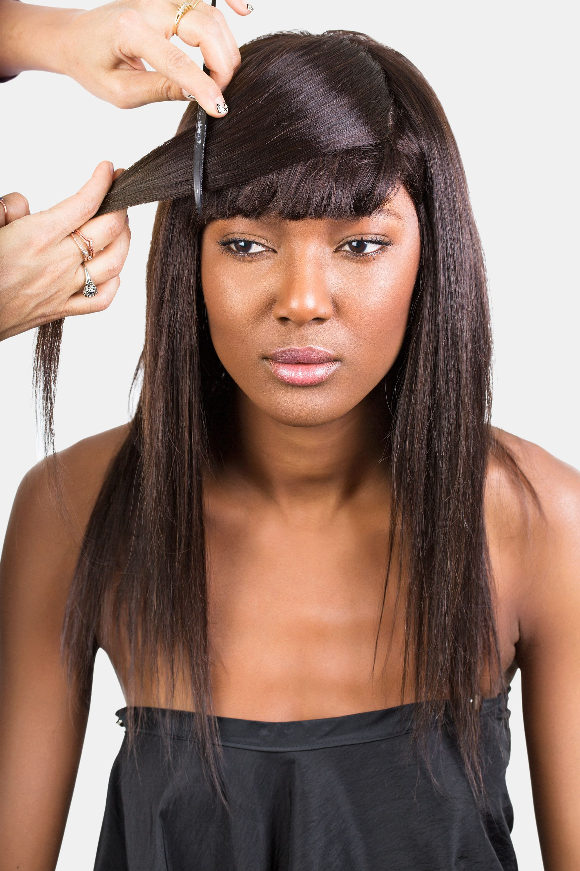 How To Style Bangs – 5 Hairstyles To Keep Your Bangs Out Of Your Face For Well Known Ponytail Hairstyles With A Strict Clasp (View 7 of 20)