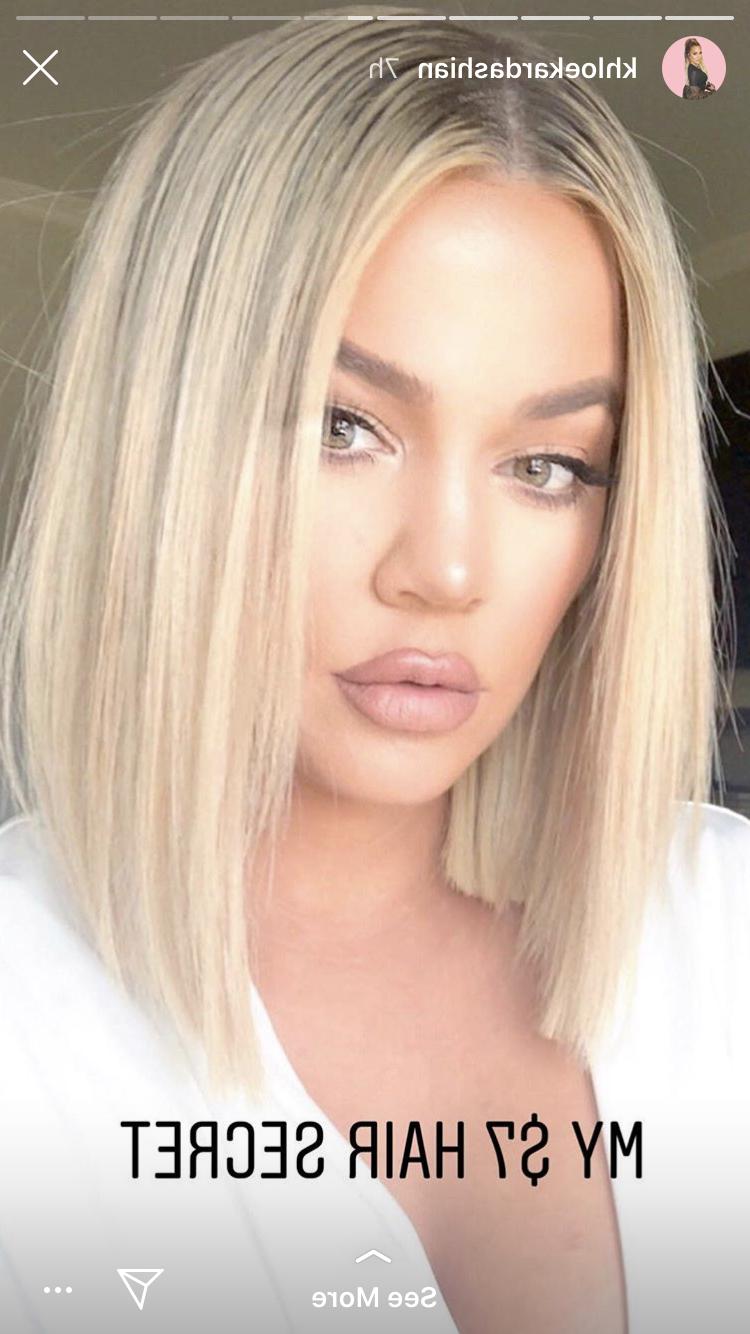 Khloe Kardashian Hair Short (View 20 of 20)