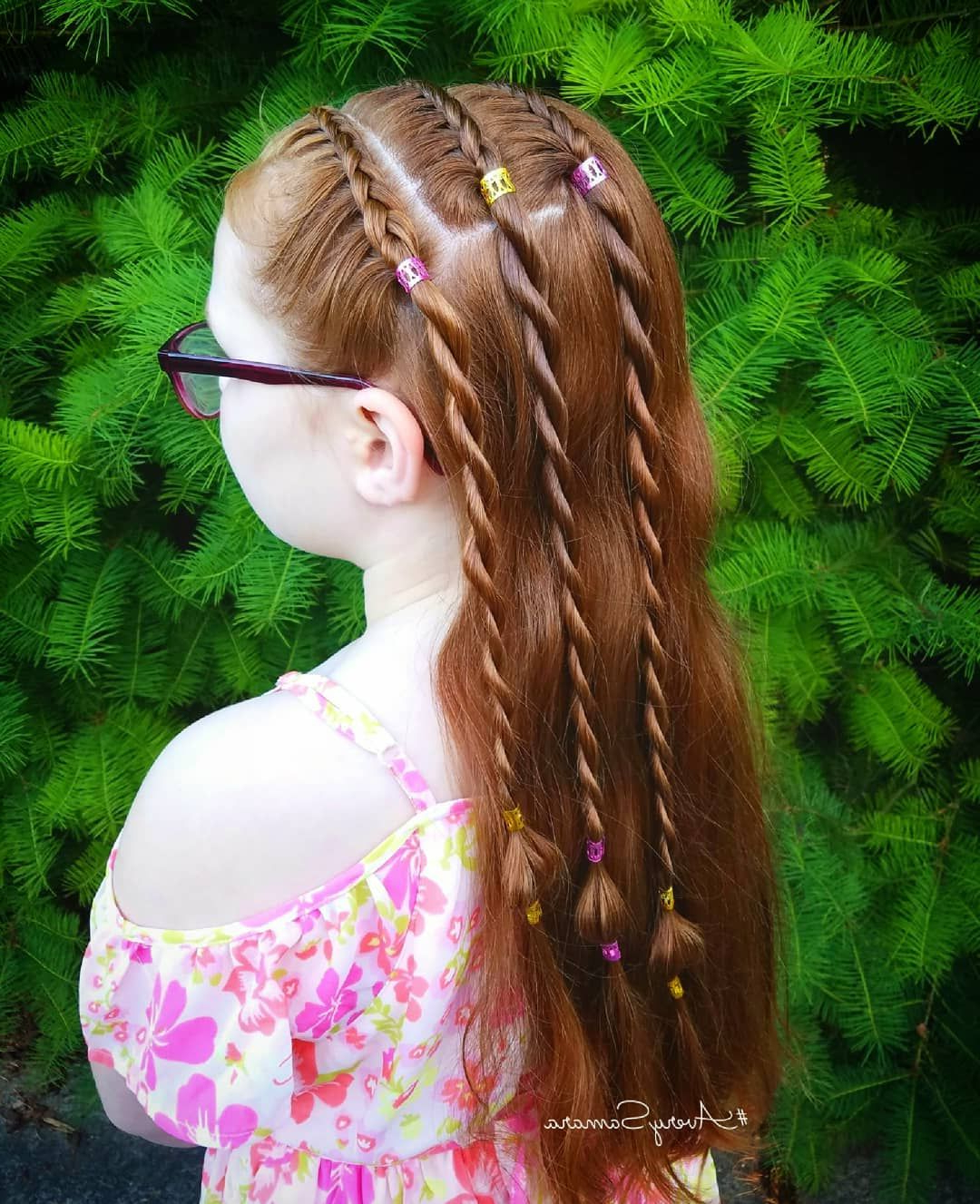 Lace Braids. Rope Braid. Rope Twist Braid. Bubble Braid (View 15 of 20)