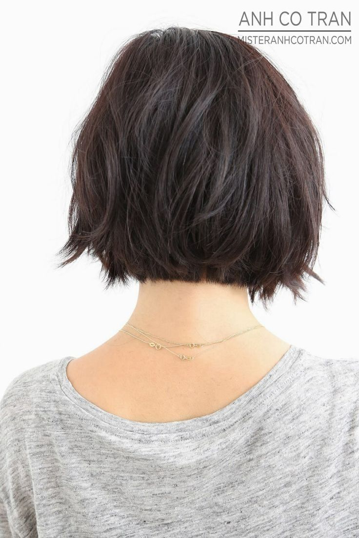 Latest Graded Ponytail Hairstyles With A Butterfly Clasp Throughout Short Length Hairstyles Back View Short Hair Back View Hair (Gallery 16 of 20)
