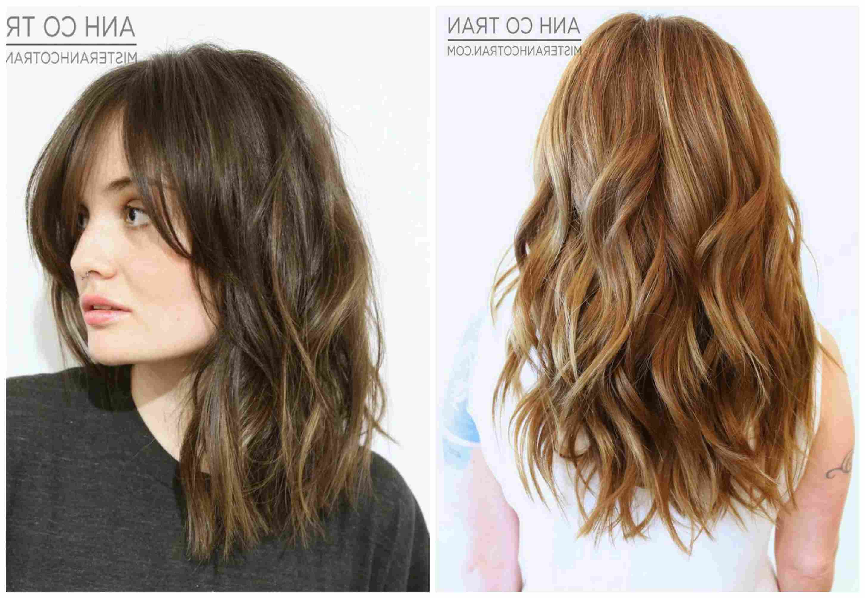 Long Wavy Hair: The Best Cuts, Colors And Styles Inside Most Current Long Wavy Chopped Hairstyles (View 18 of 20)