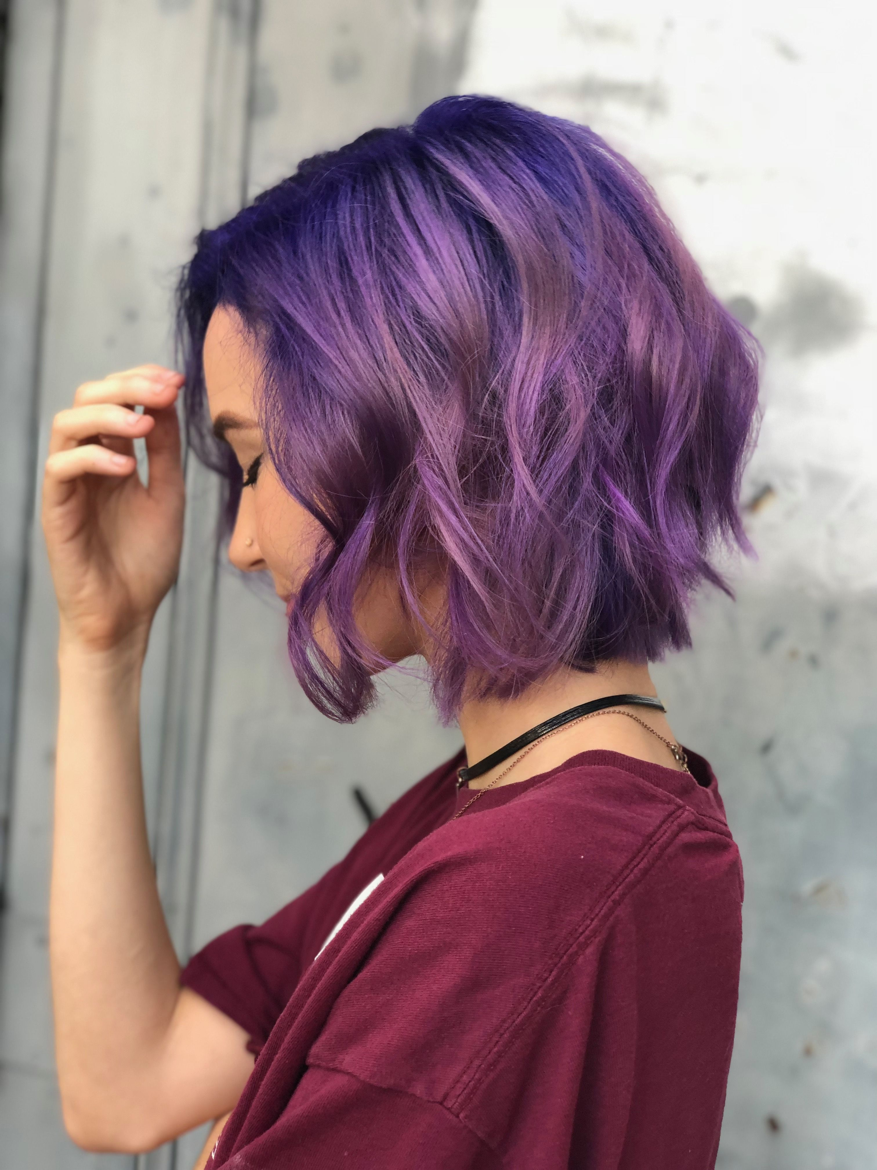 Makeup/hair In 2019 With Regard To Newest Ravishing Raven Waves Hairstyles (View 11 of 20)