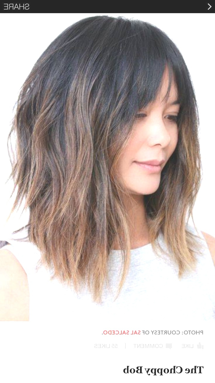 Most Current Cute Chopped Bob Hairstyles With Swoopy Bangs Pertaining To Hairstyles : Chopped Bob With Swoopy Bangs Cute 70 Fabulous Choppy (View 13 of 20)