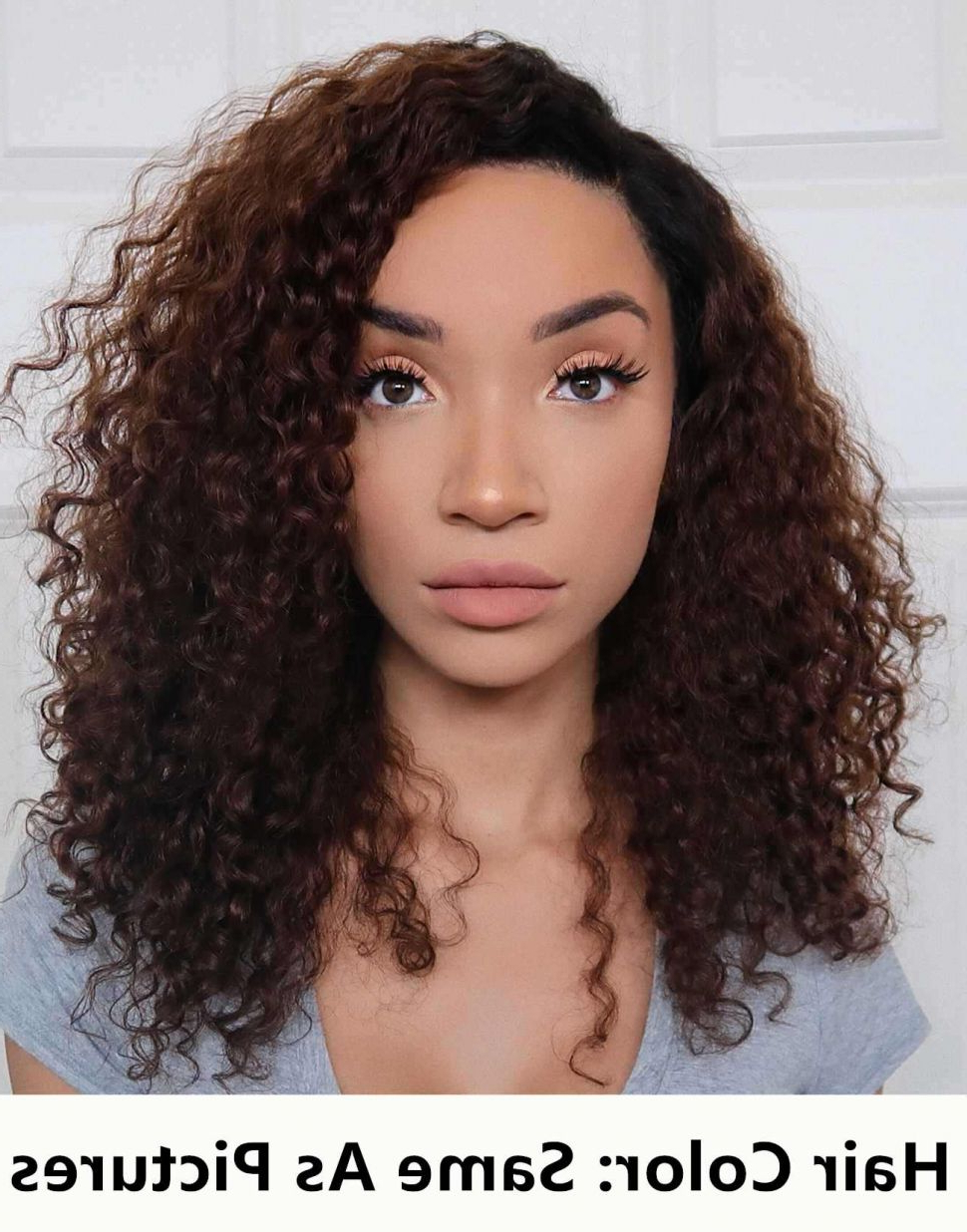 Most Current Ravishing Raven Waves Hairstyles In Hairstyles : Raven E28093 Ombre Curly Hair Human Full Lace Wigs (View 14 of 20)