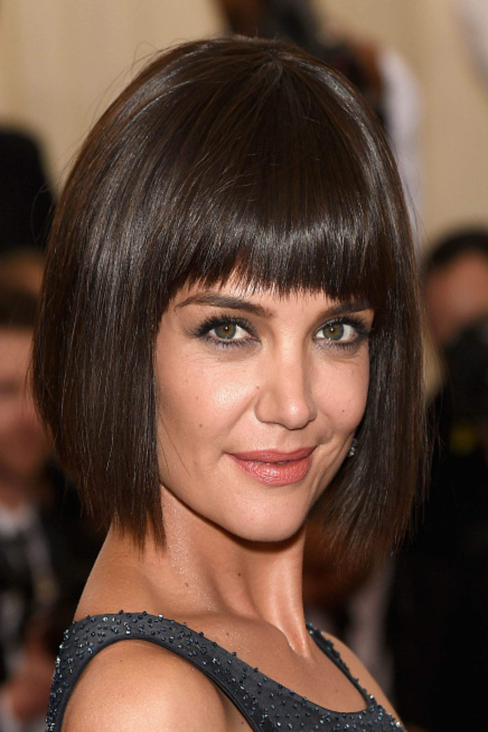 Most Current Simple Bob Hairstyles With Shaped Bangs Regarding 30 Short Hairstyles For Thick Hair 2017 – Women's Haircuts For Short (Gallery 18 of 20)