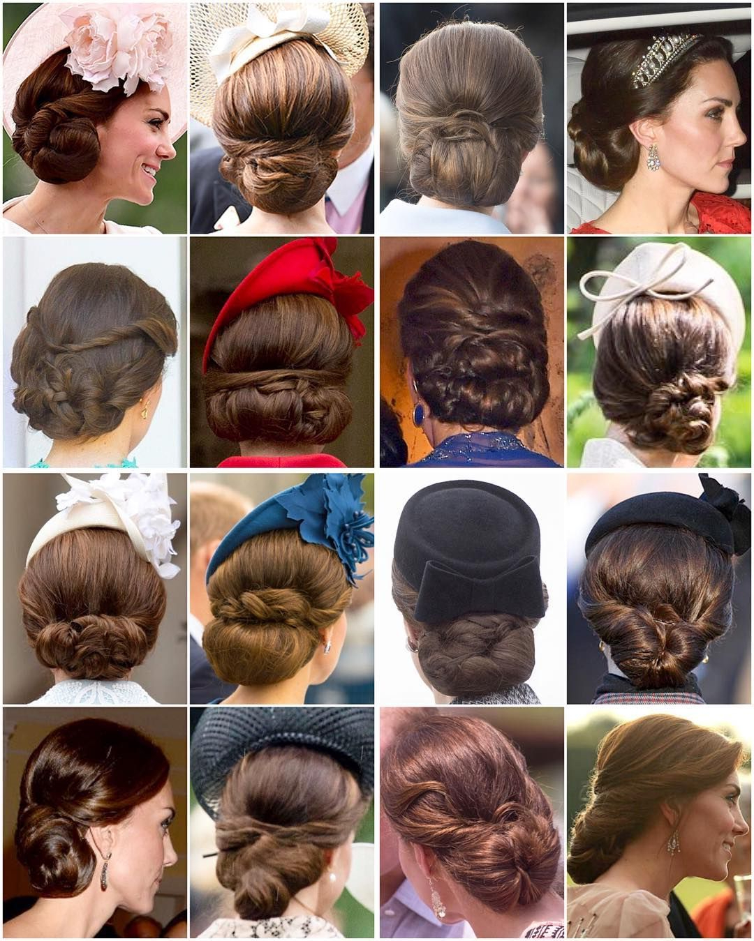 Most Of Kate's Beautiful Updo's From (View 9 of 20)