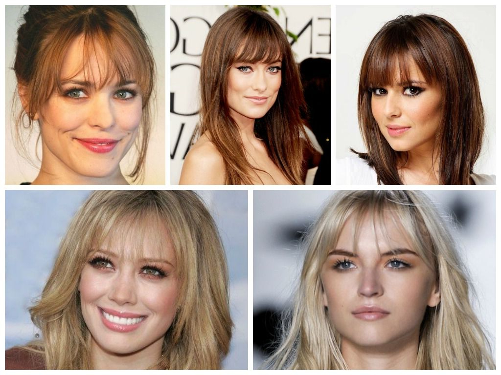 Most Popular Big Hair And Full Bangs Hairstyles In This Is Best For Women With A Square Or Oblong Face Shape Or Women (View 13 of 20)
