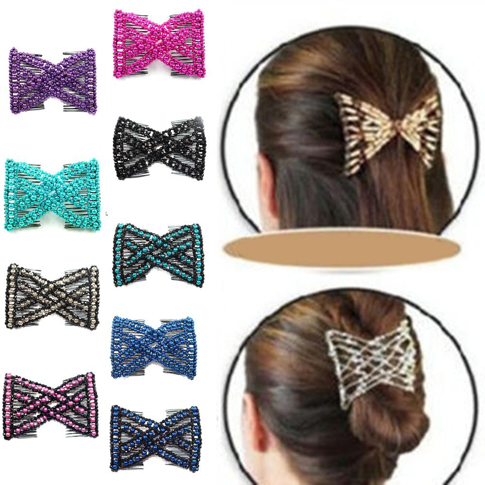 Most Popular Graded Ponytail Hairstyles With A Butterfly Clasp Throughout Womens Hair Bands For Sale – Womens Hair Accessories Online Deals (View 15 of 20)